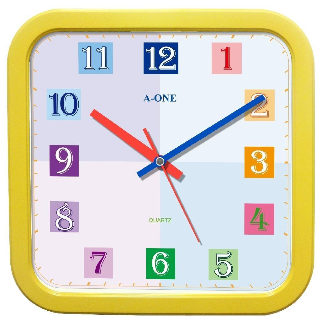 0301 Colorful Wall Clock One Taiwan Manufacturer