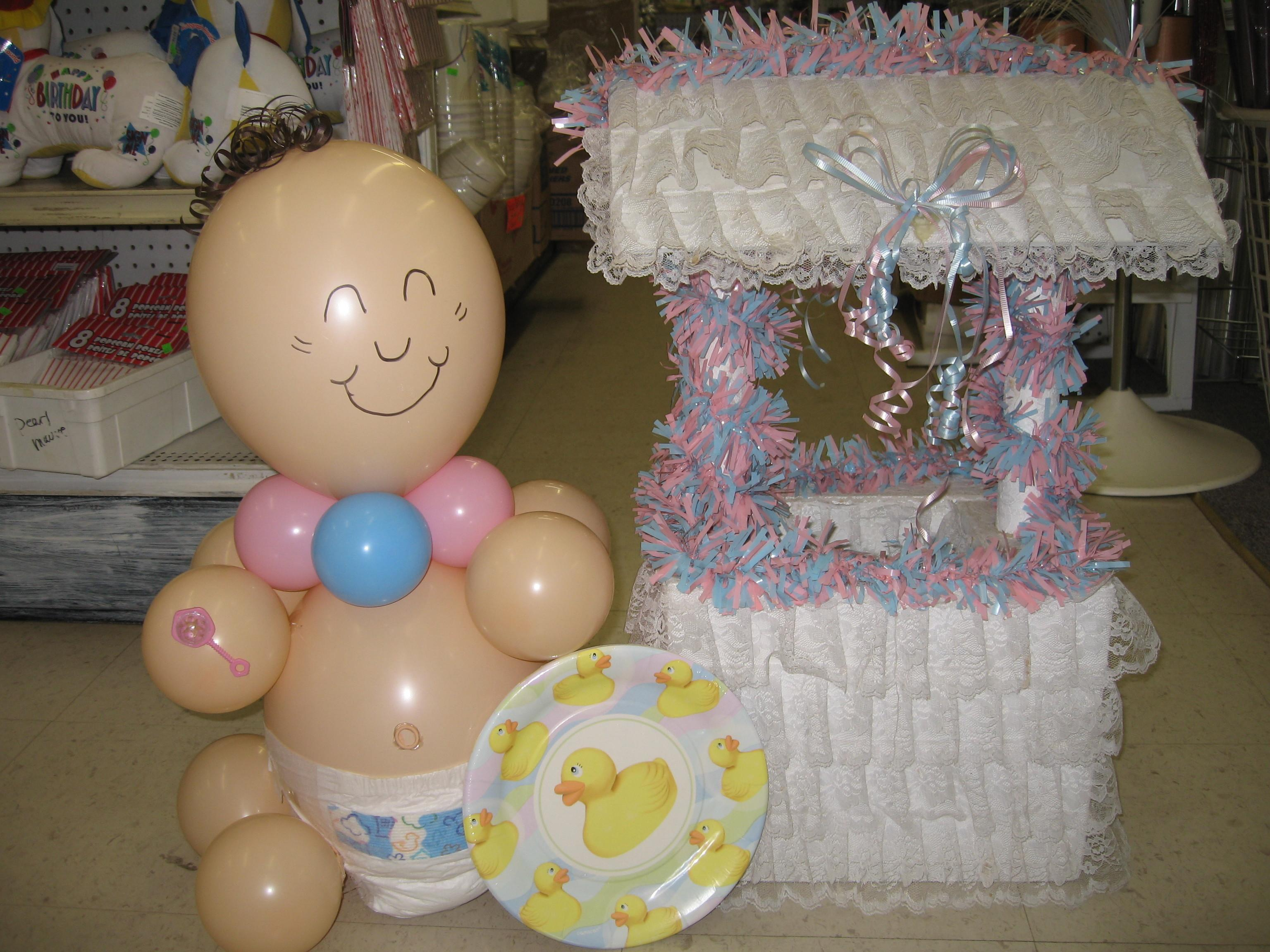 100 Balloon Decorations Baby Showers