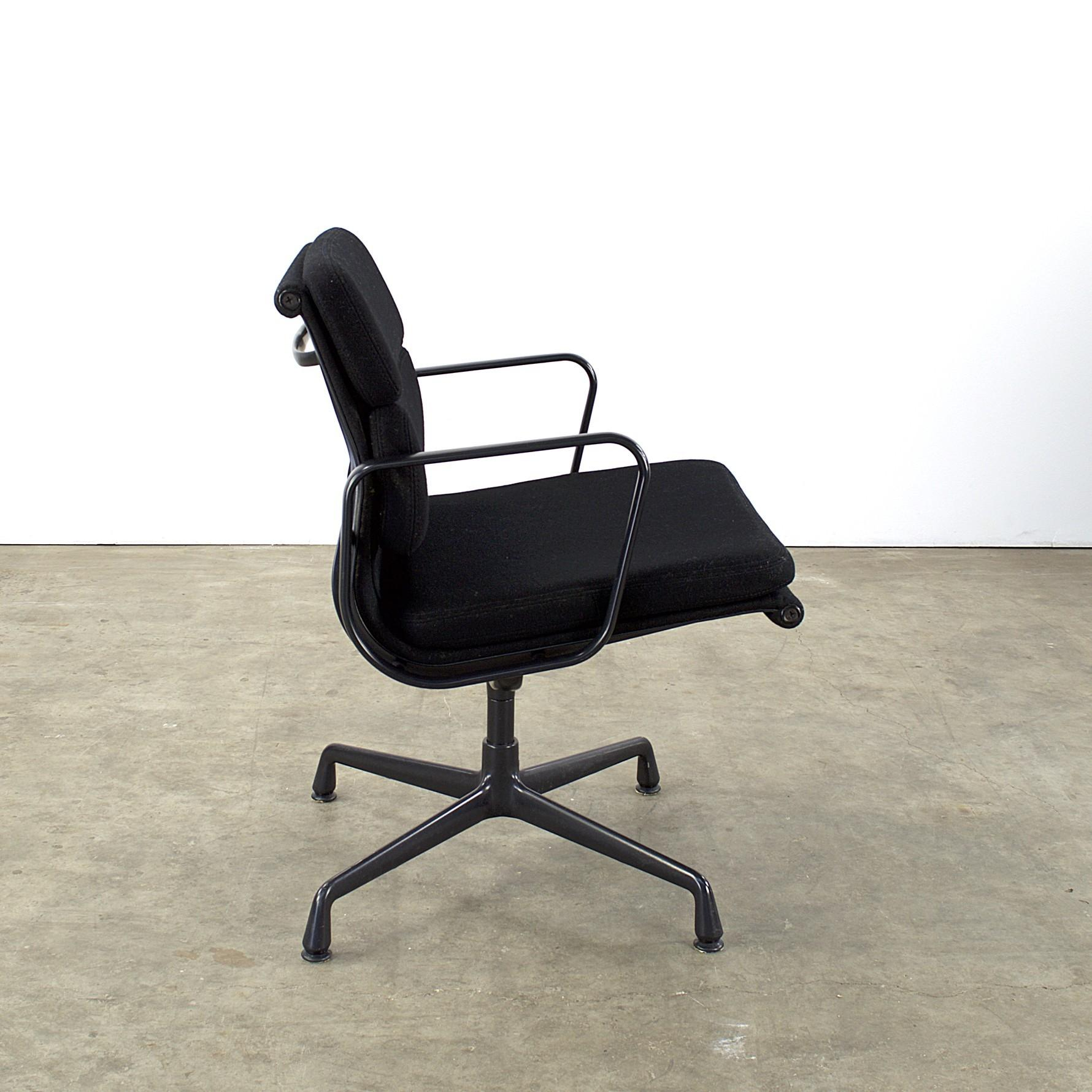 100 Black Vitra Lounge Chair Buy Lch Eames