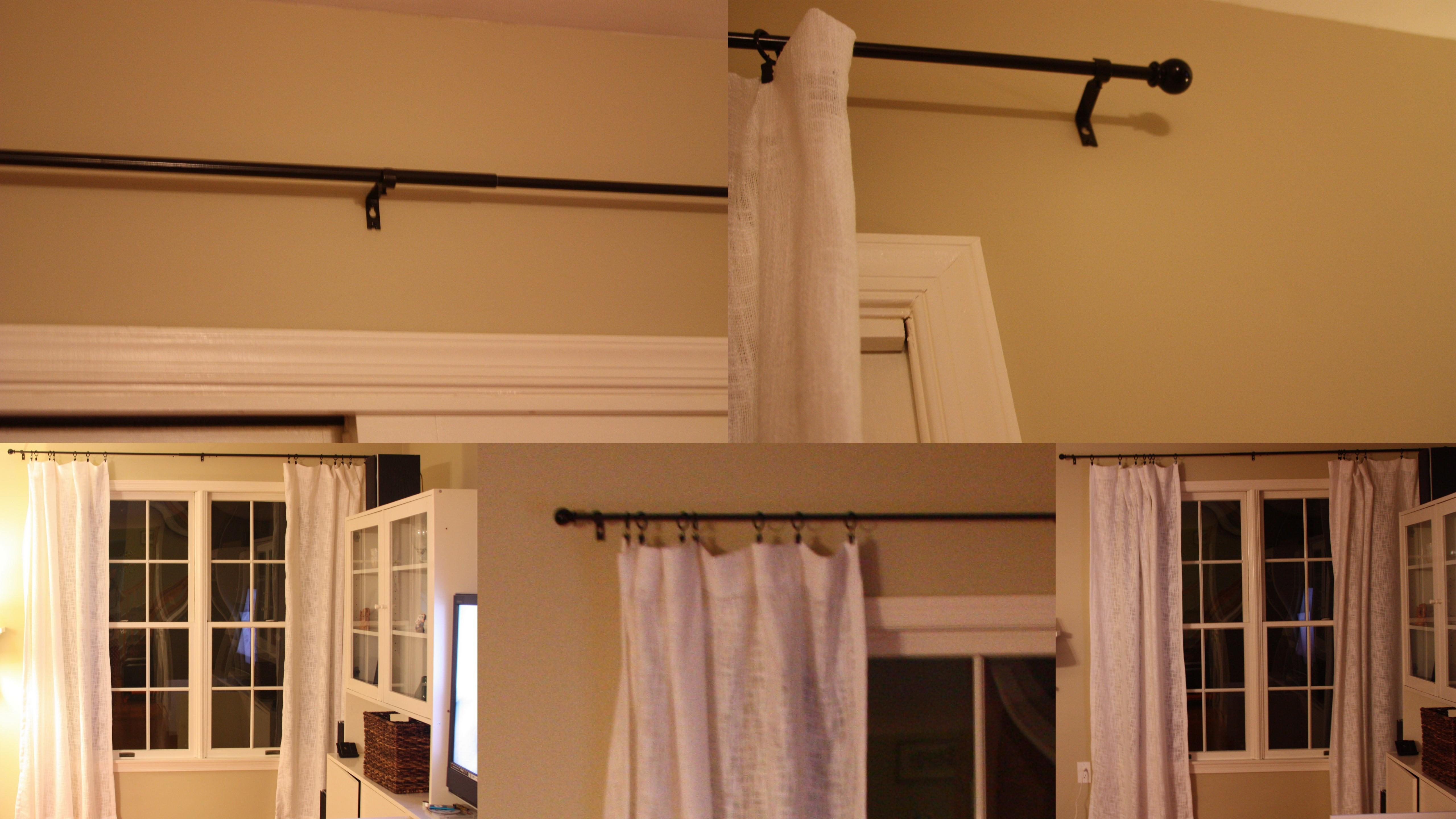 100 Ceiling Mount Curtain Rod Bed Romantic Diy Canopies