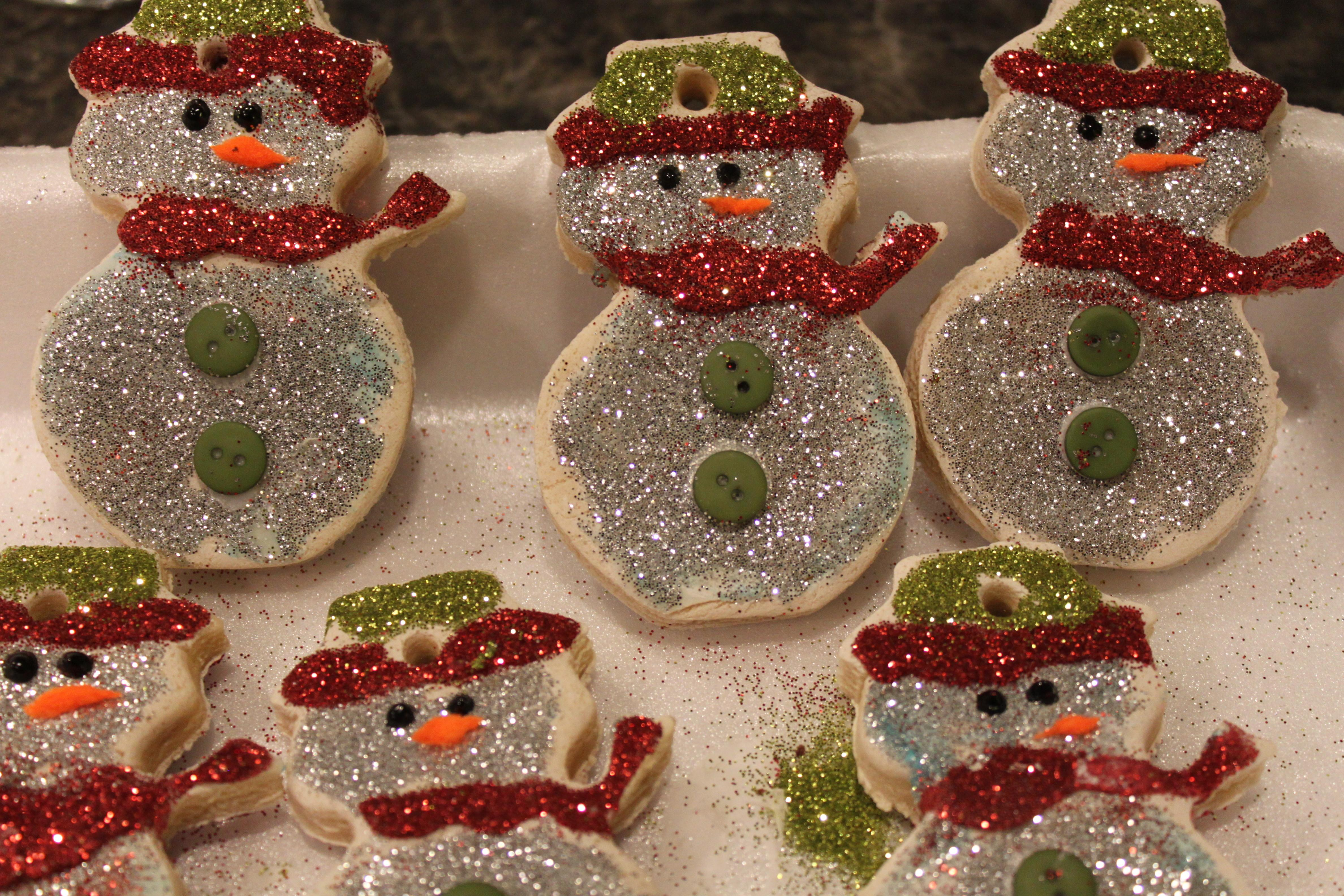 100 Christmas Ornaments Salt Dough Diy