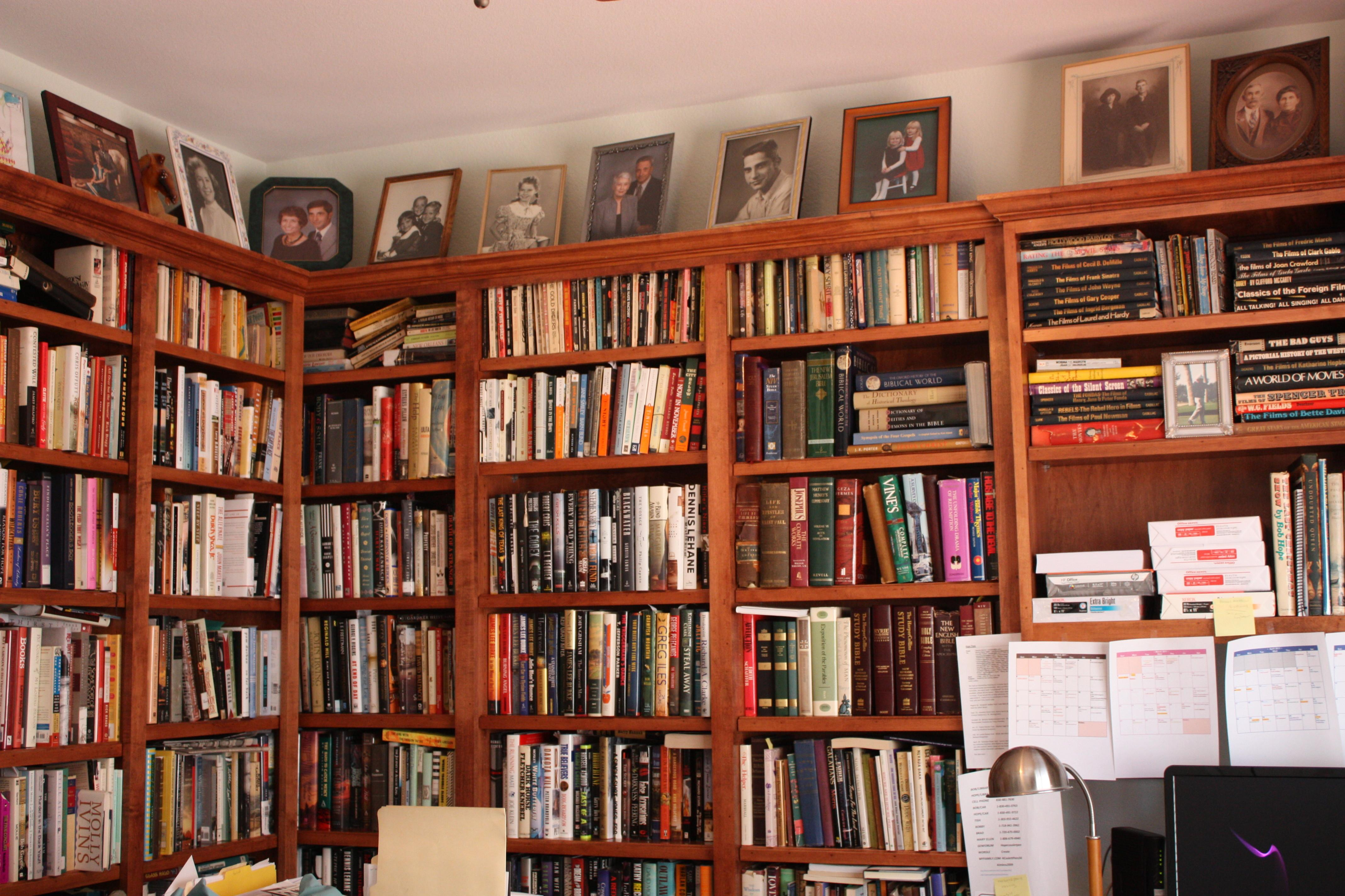 100 Decorating Home Library Office