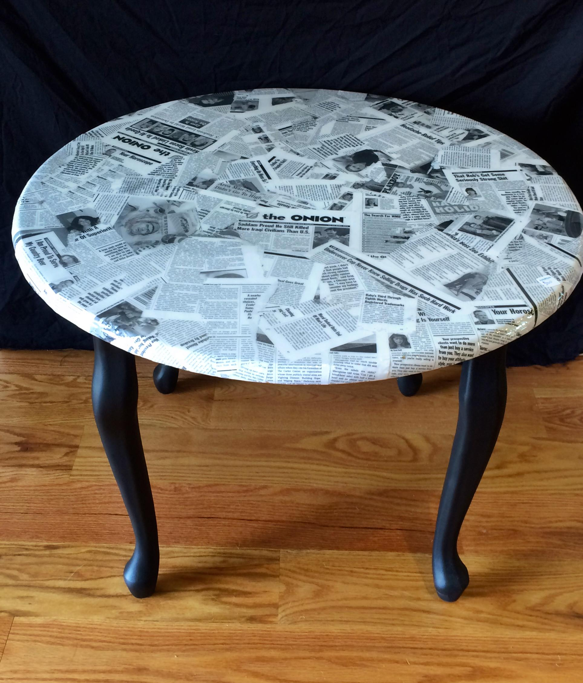 100 Decoupage Coffee Table Diy Decoupaged