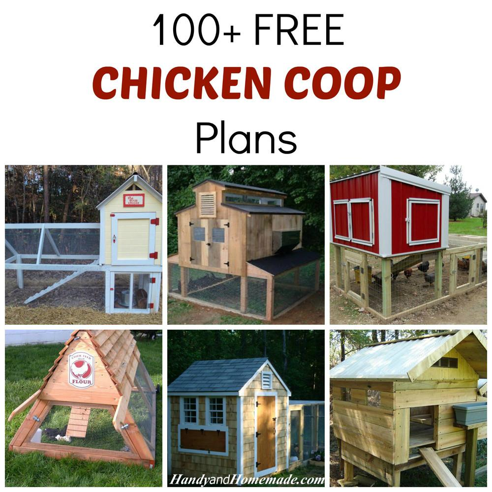 100 Diy Chicken Coop Plans Ideas Handy Homemade