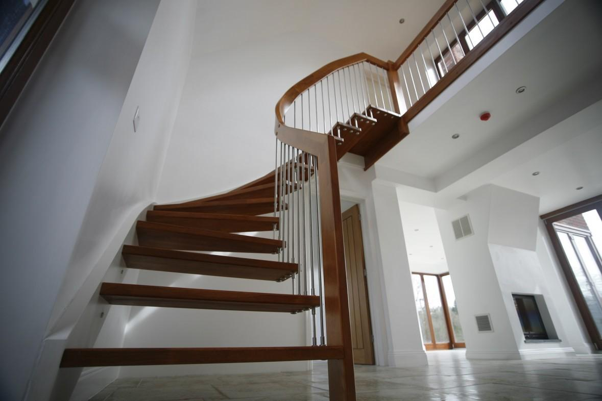 100 Great Modern Wooden Staircase Designs