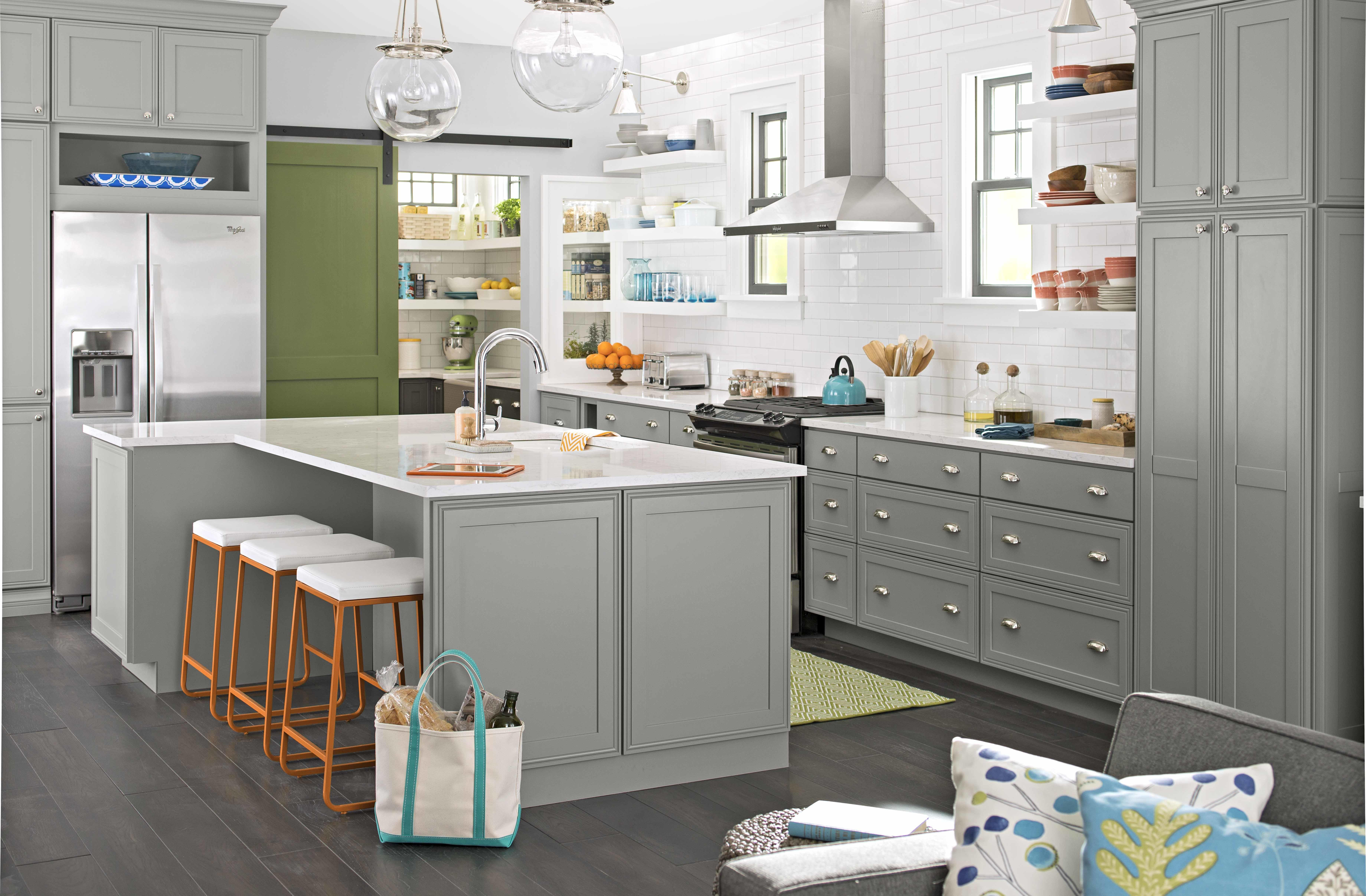 100 Grey Wood Kitchen Cabinets Apartments