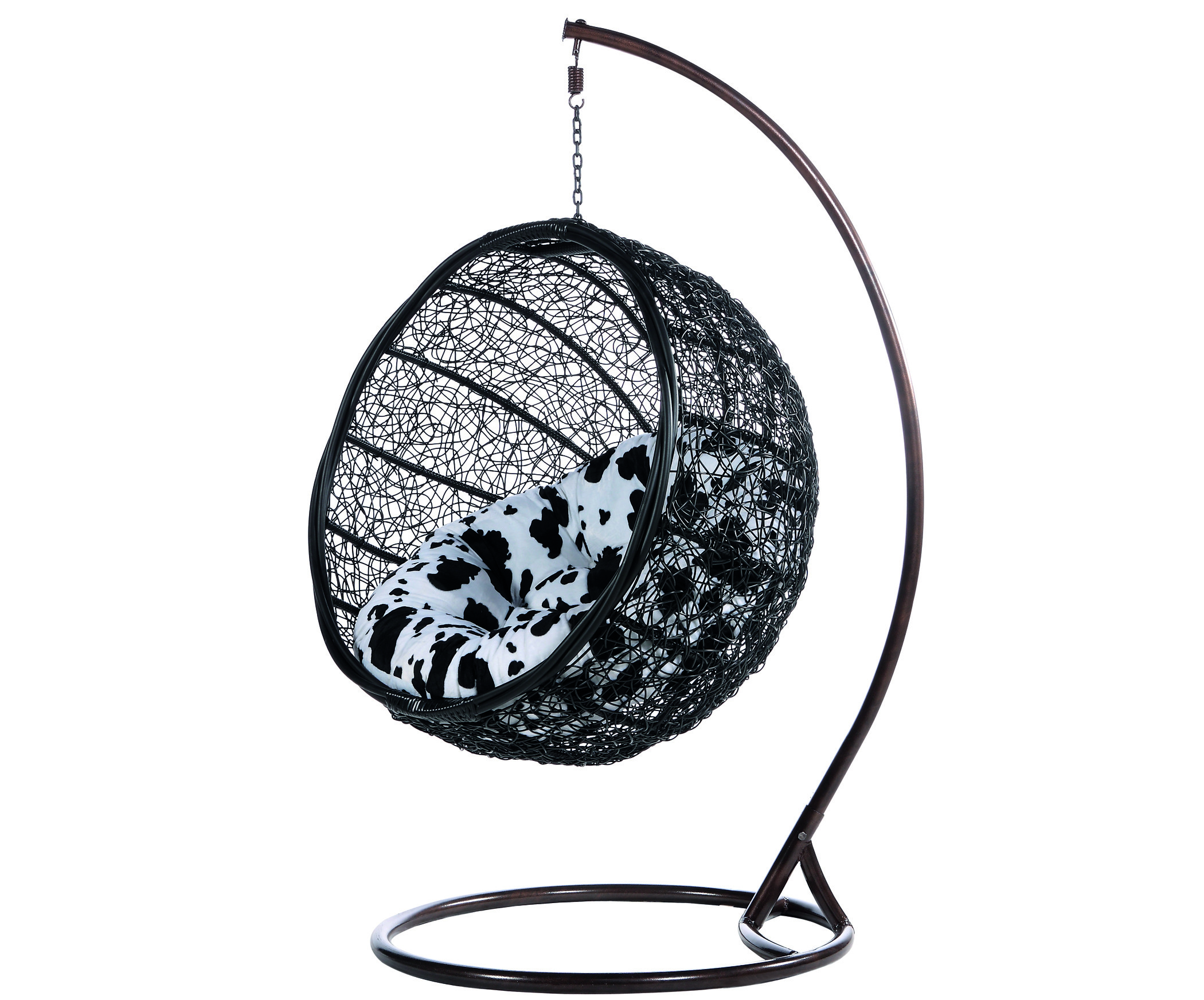 100 Hanging Chairs Bedroom Black White