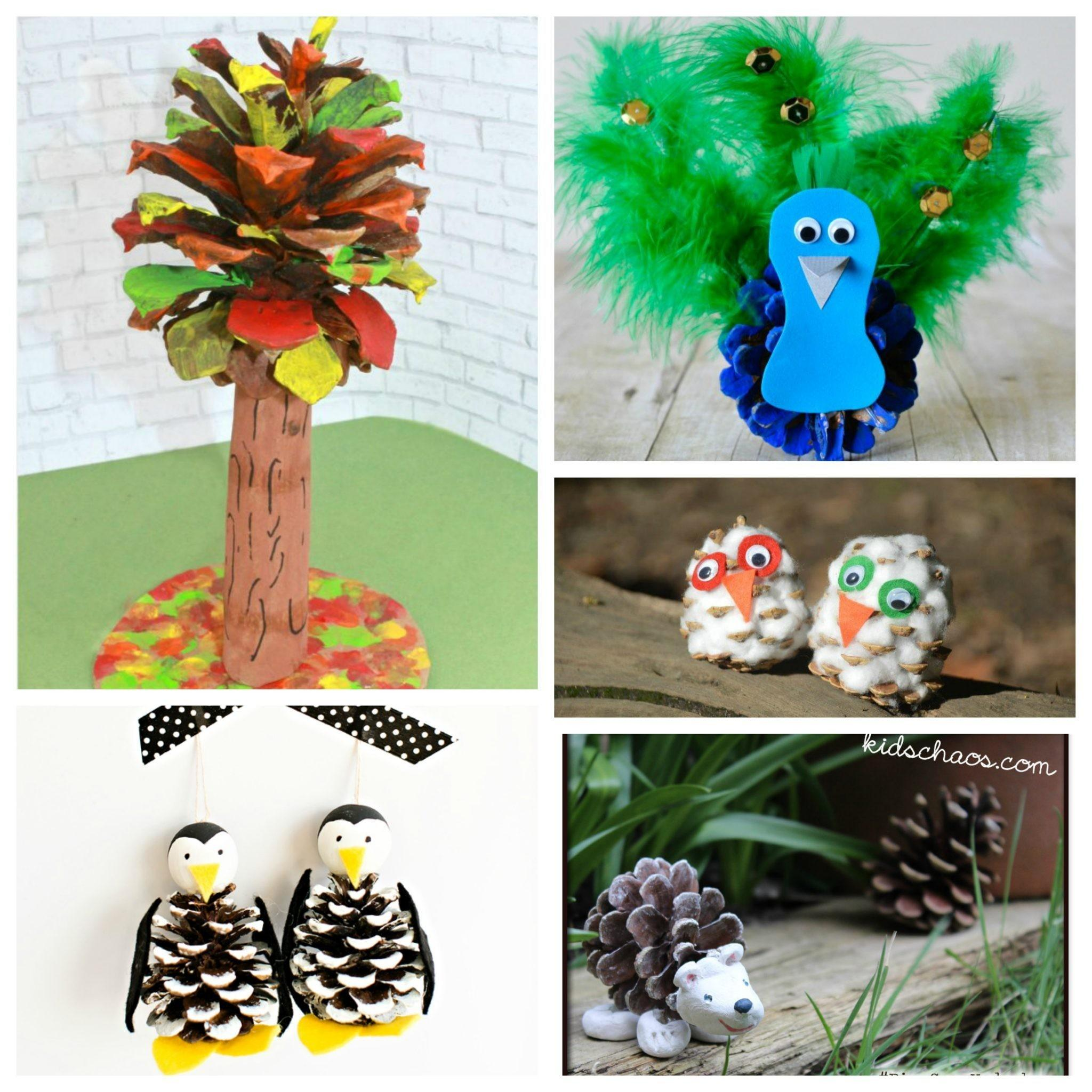 100 Holiday Pine Cone Crafts Best