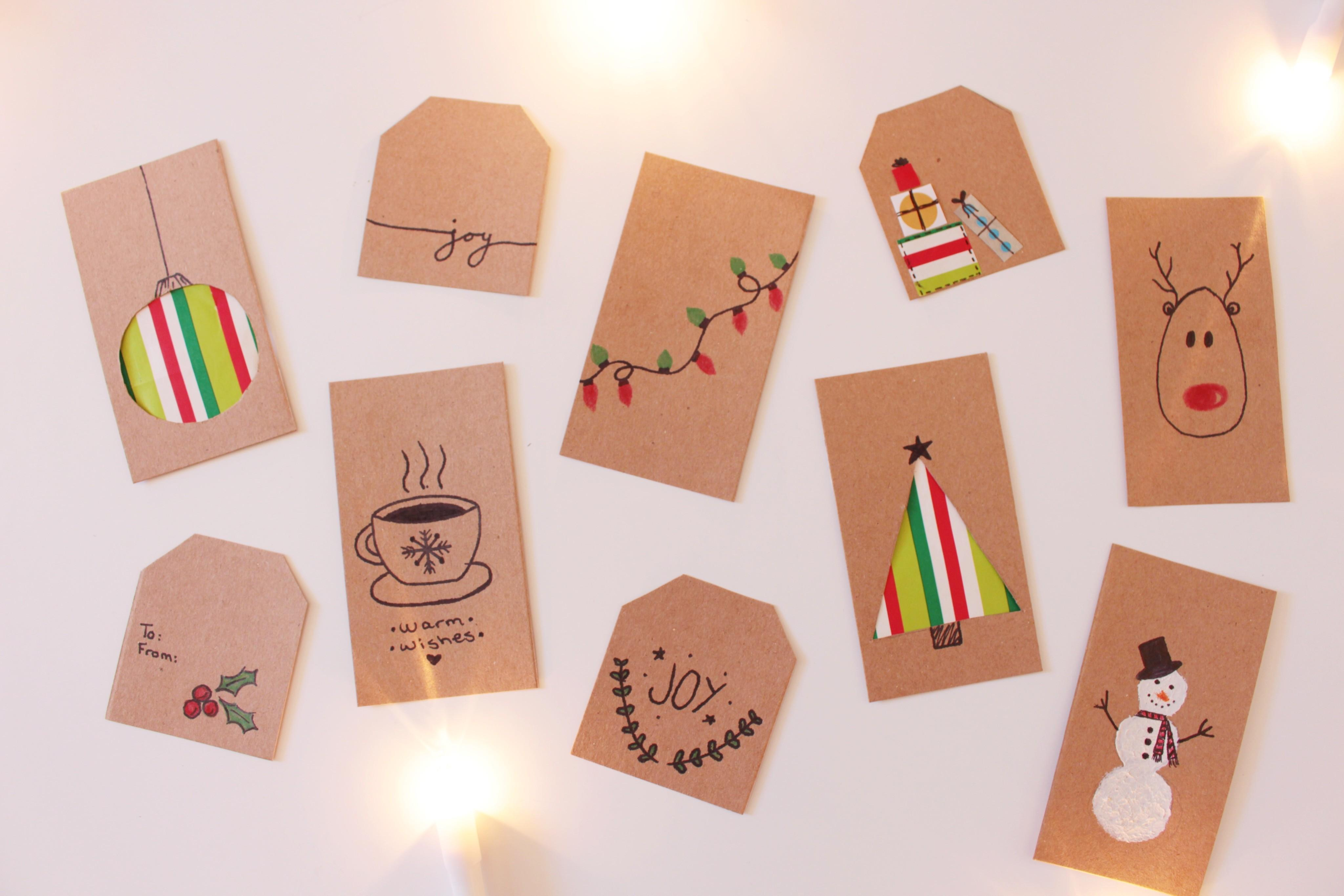 100 Homemade Christmas Gift Paper Projects