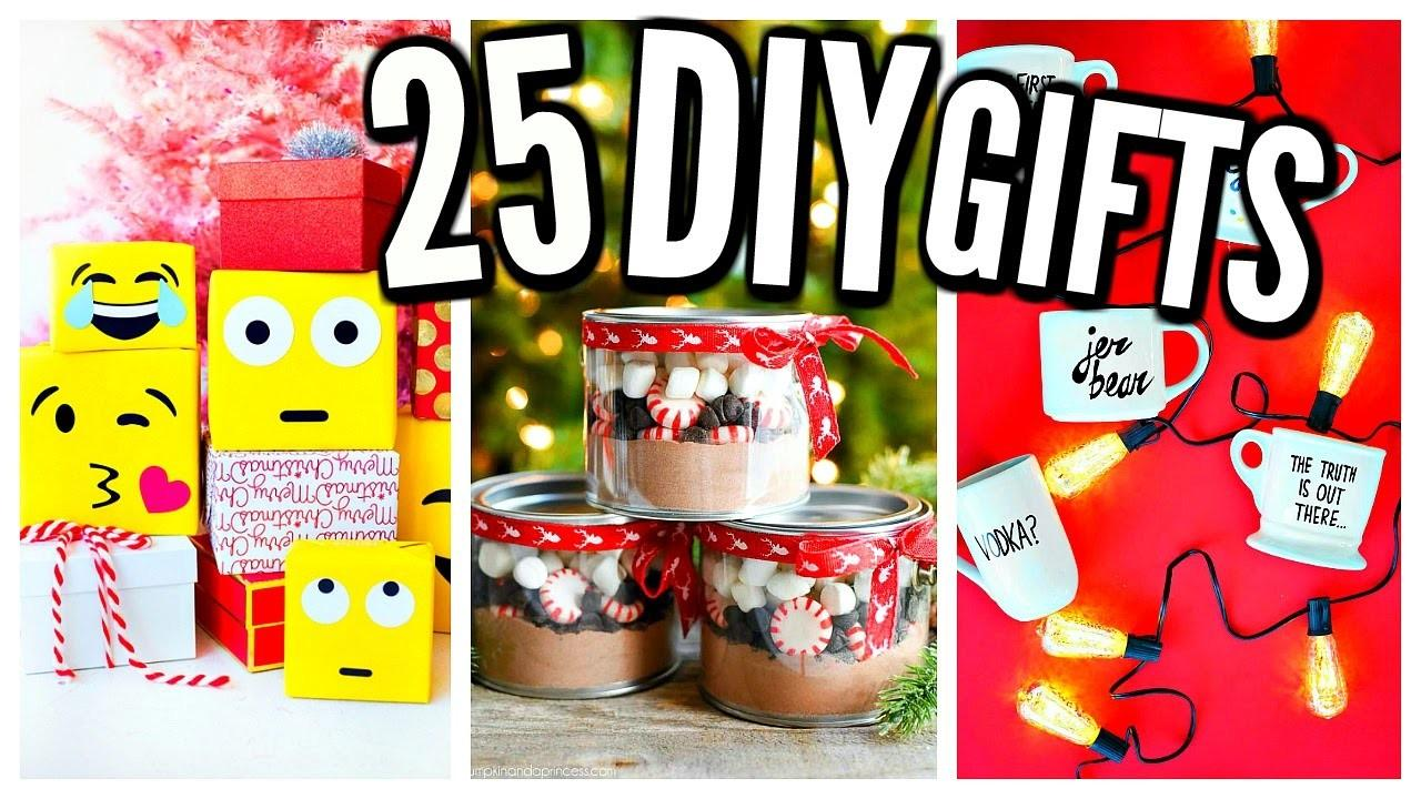 100 Homemade Christmas Gifts Toddlers