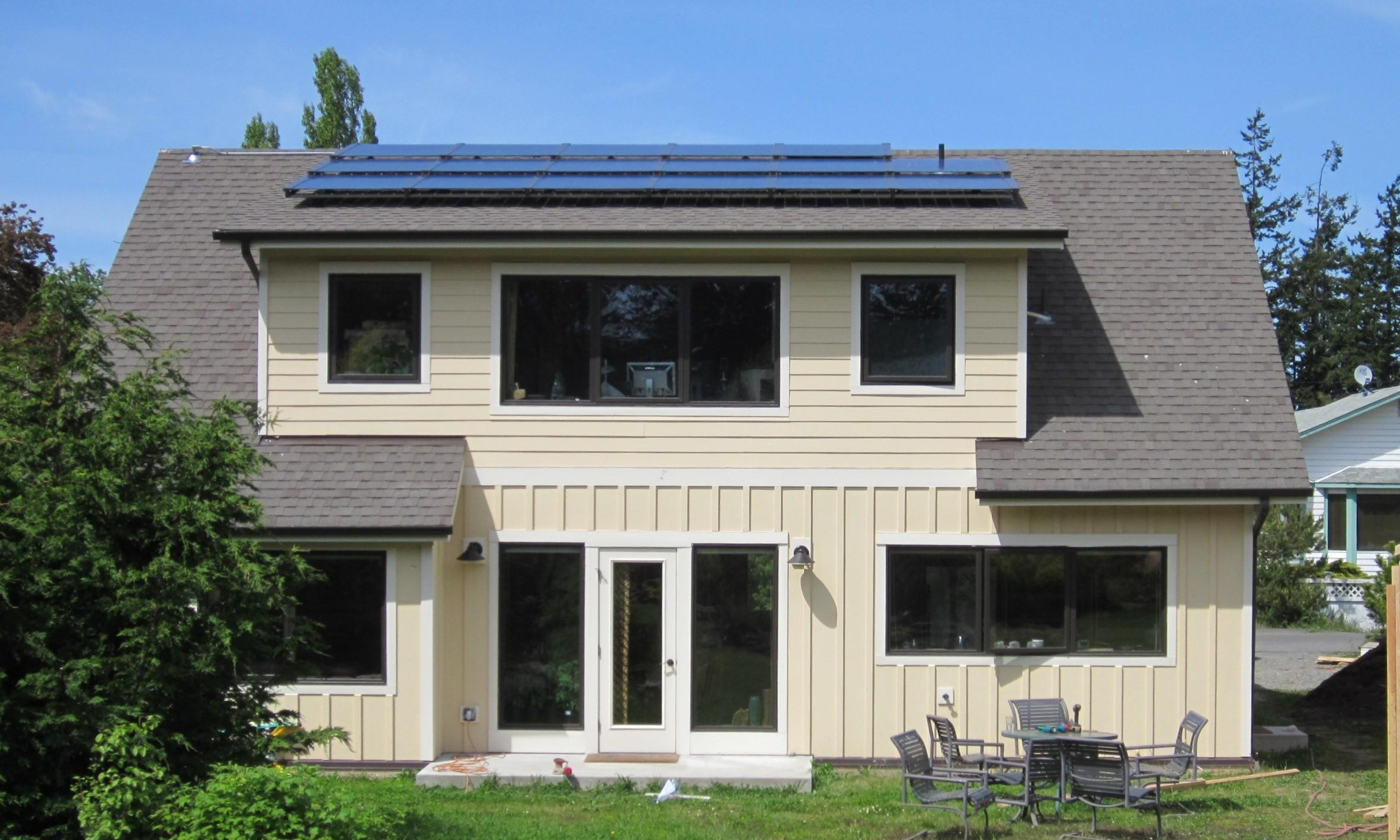 100 House Energy Efficiency Pitched Roof