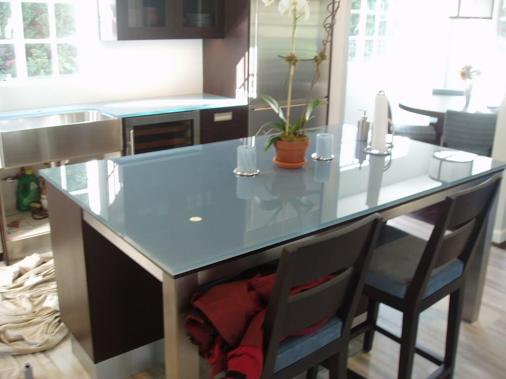 100 Led Glass Countertops Recycled