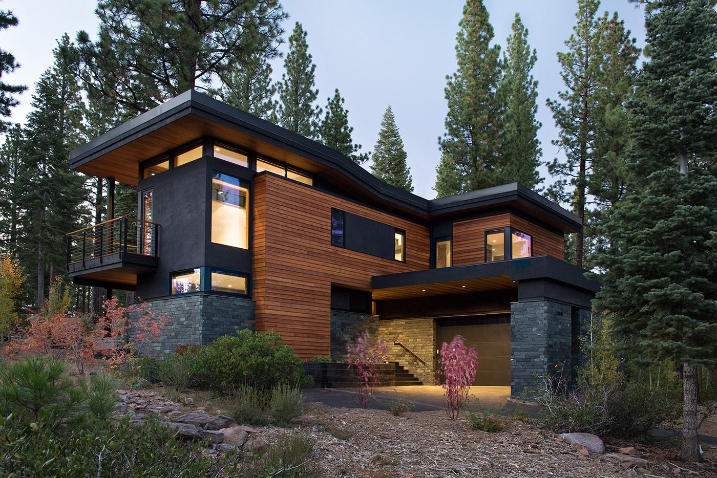 100 Modern Ranch Homes California Wine Country
