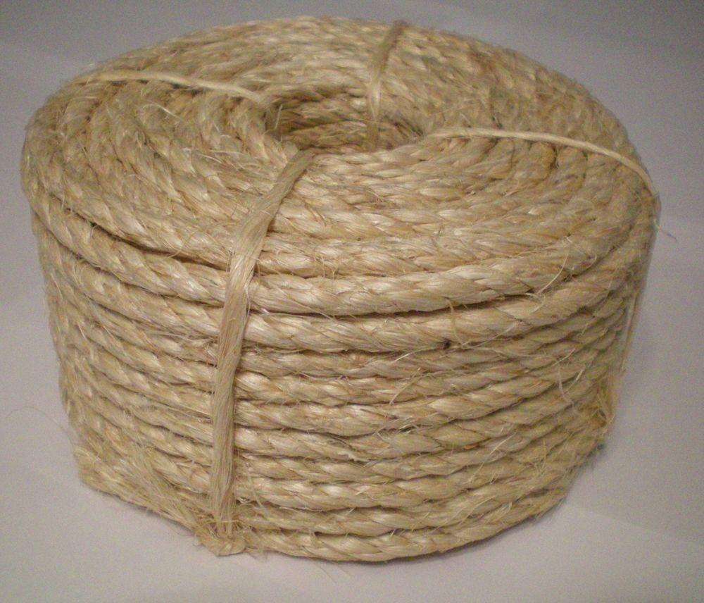 100 Natural Sisal Rope Cat Scratching Post Claw