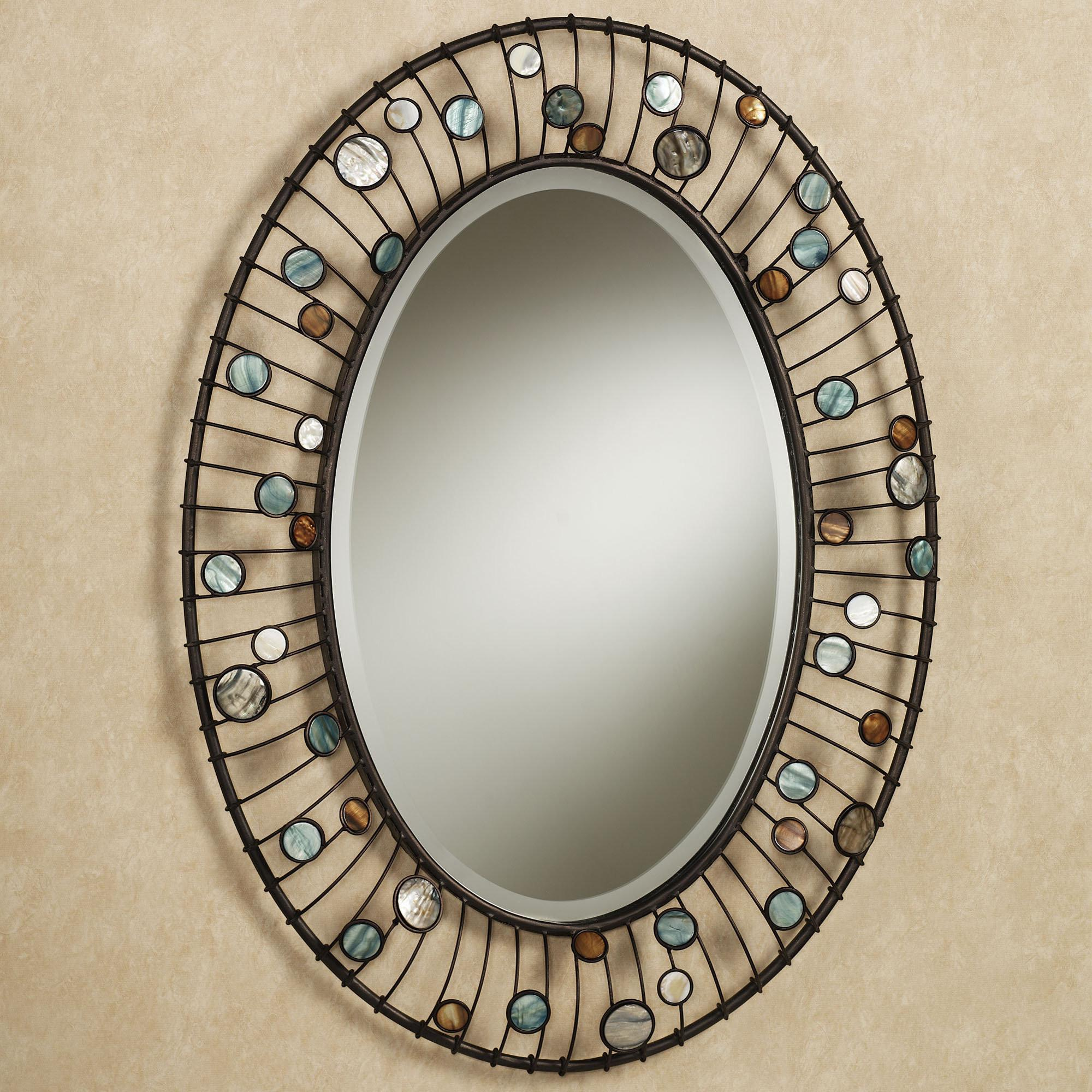 100 Oval Bathroom Wall Mirrors Uttermost Frameless