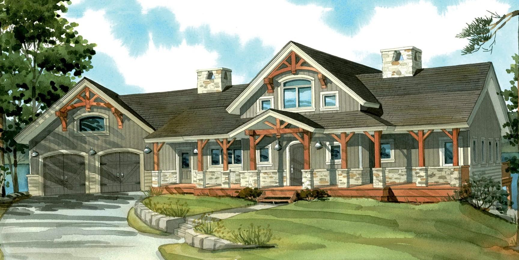 100 Ranch Style House Plans Country