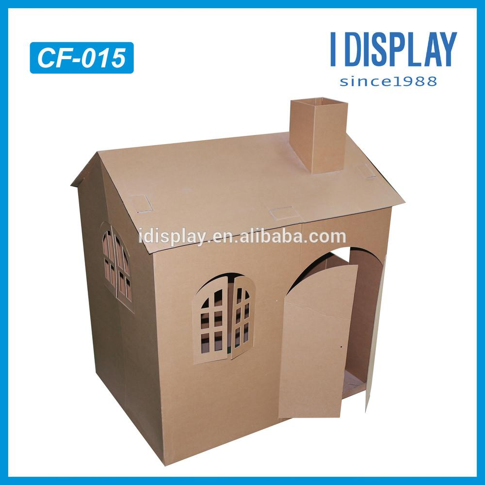 100 Recyclable Material Kids Cardboard Houses Sale
