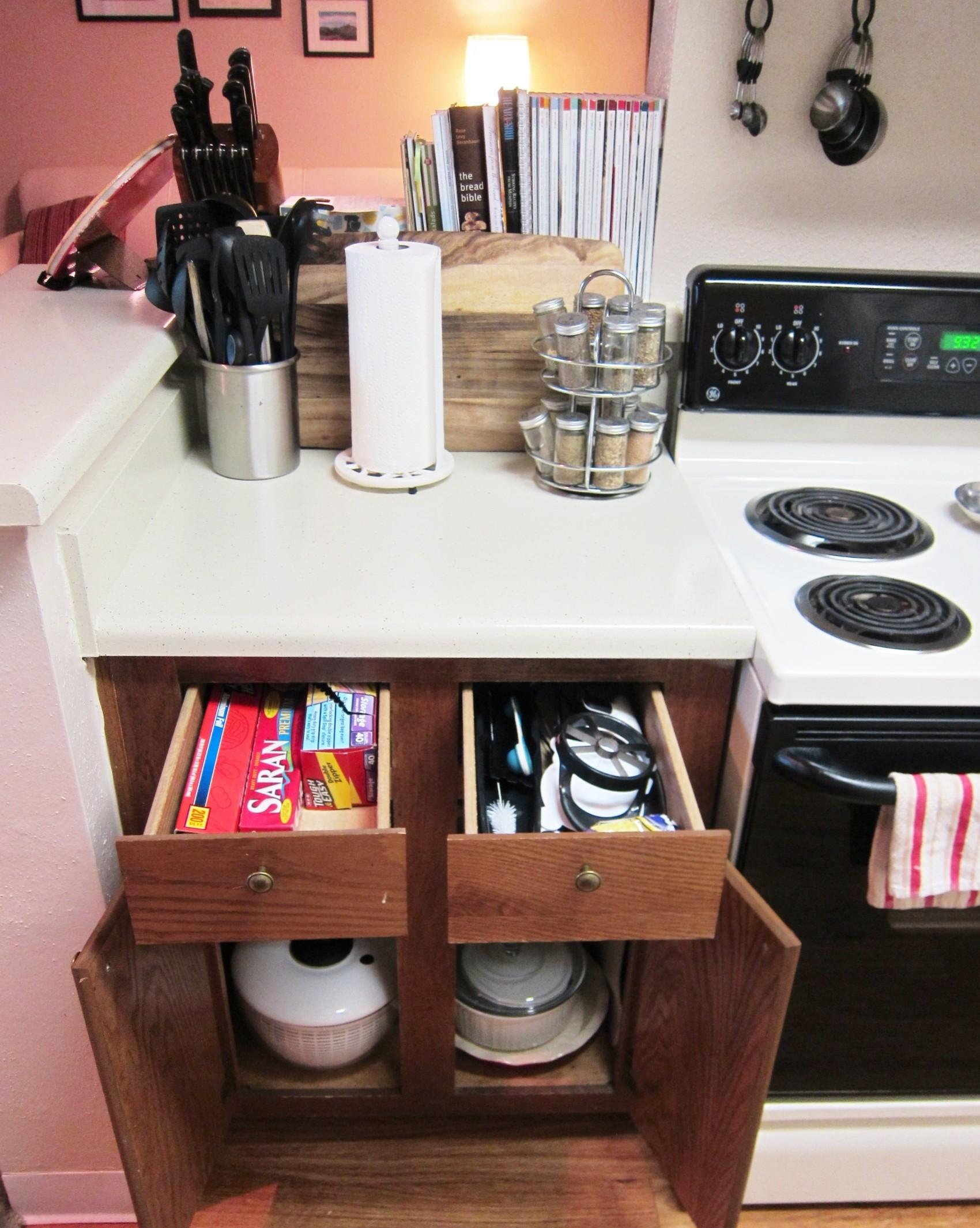 100 Small Kitchen Storage Ideas