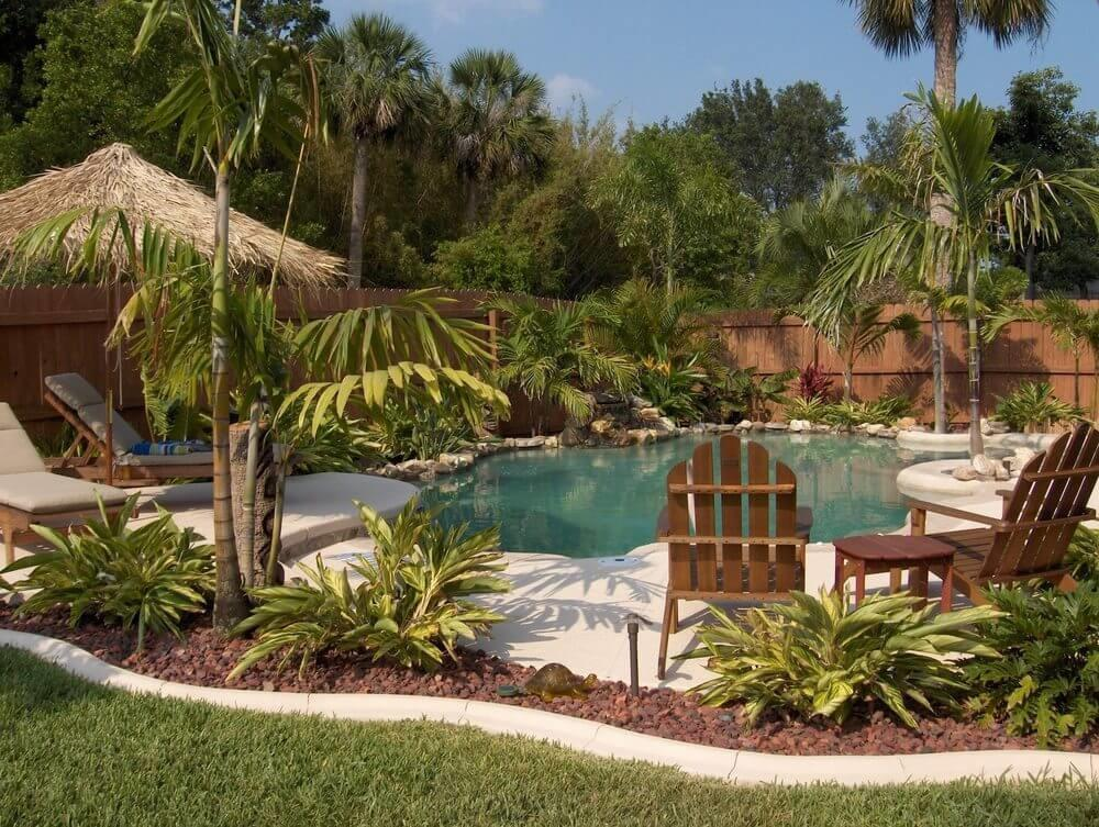 38 Contemporary Tropical Pool Landscaping Ideas That Are Going To