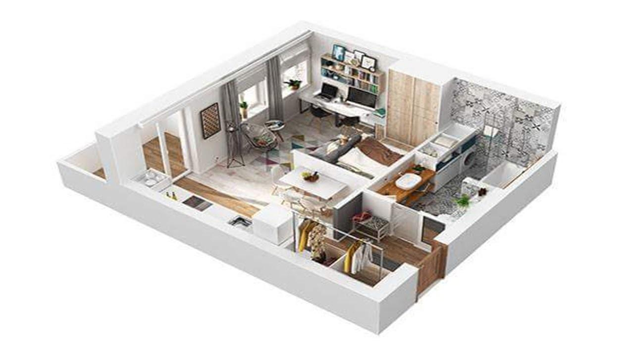 Brand New Square Meter Apartment Design That Combine Style With Practicality Trends In 2020 Photo Examples Decoratorist