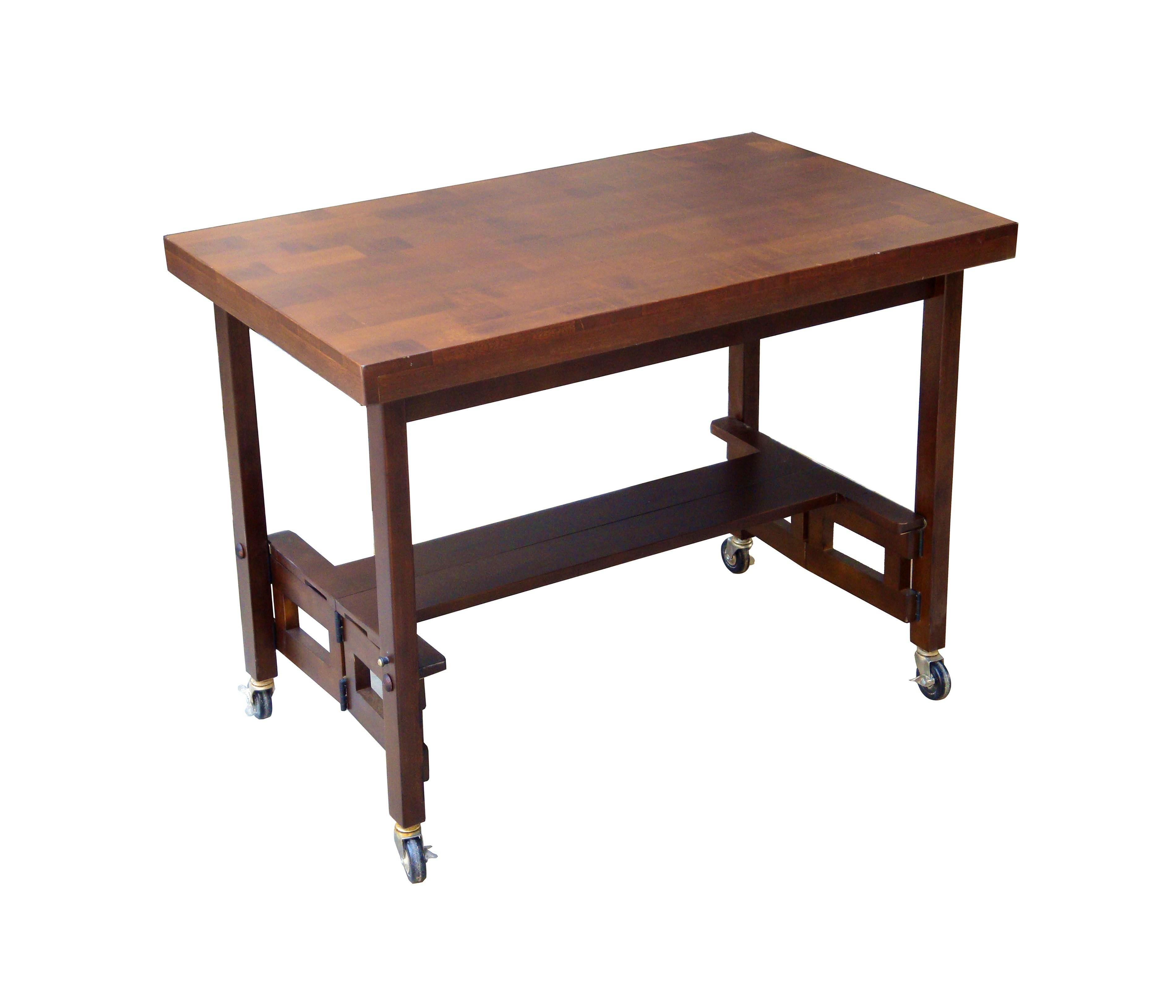 100 Subs Bench Folding Wood Table Set
