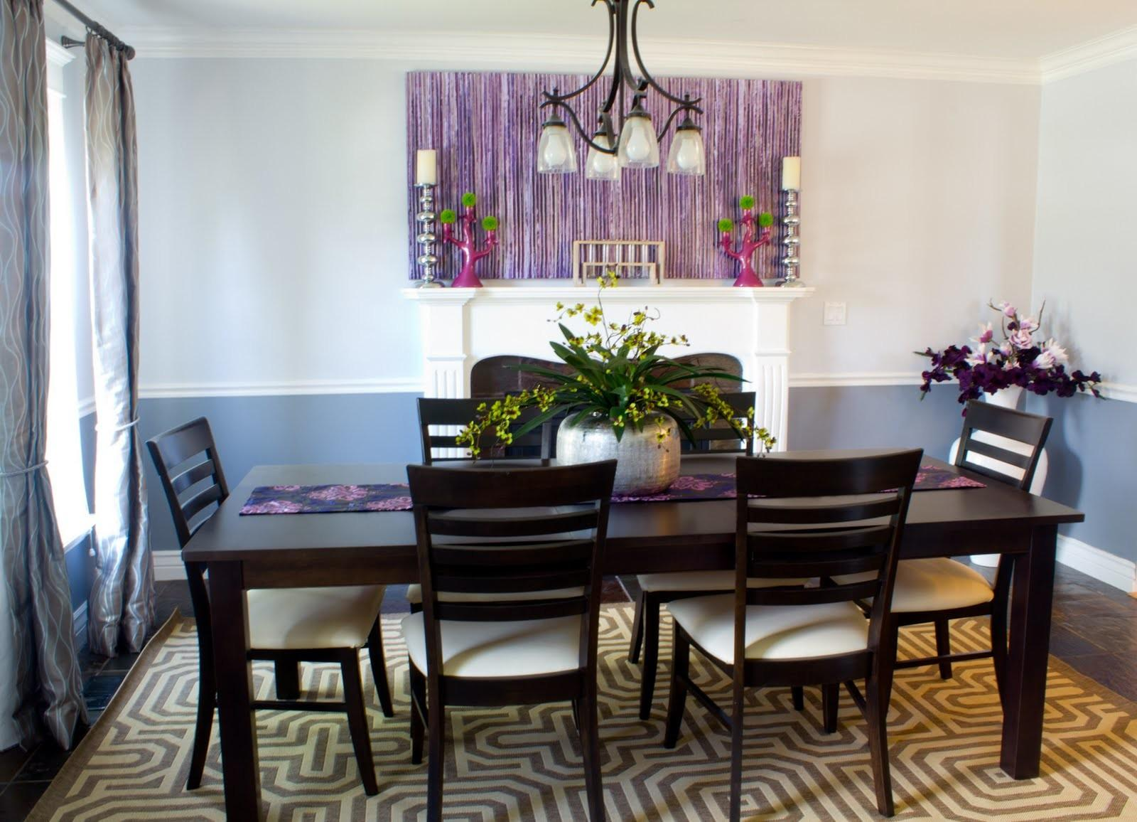 100 Troutdale Dining Room Aubergine Ter