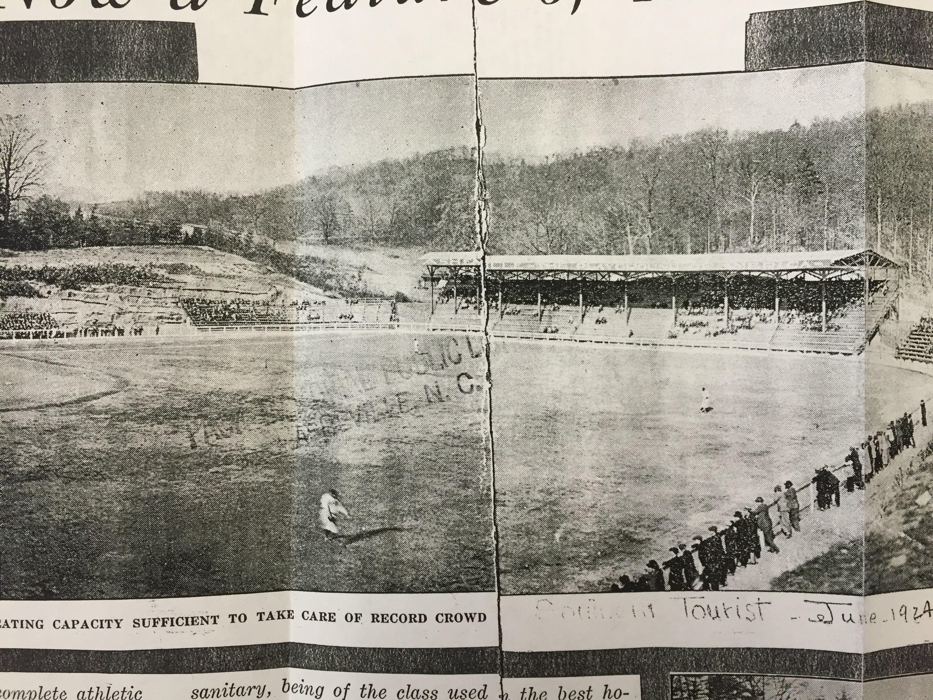 100 Years Asheville Tourists Mccormick Field Named