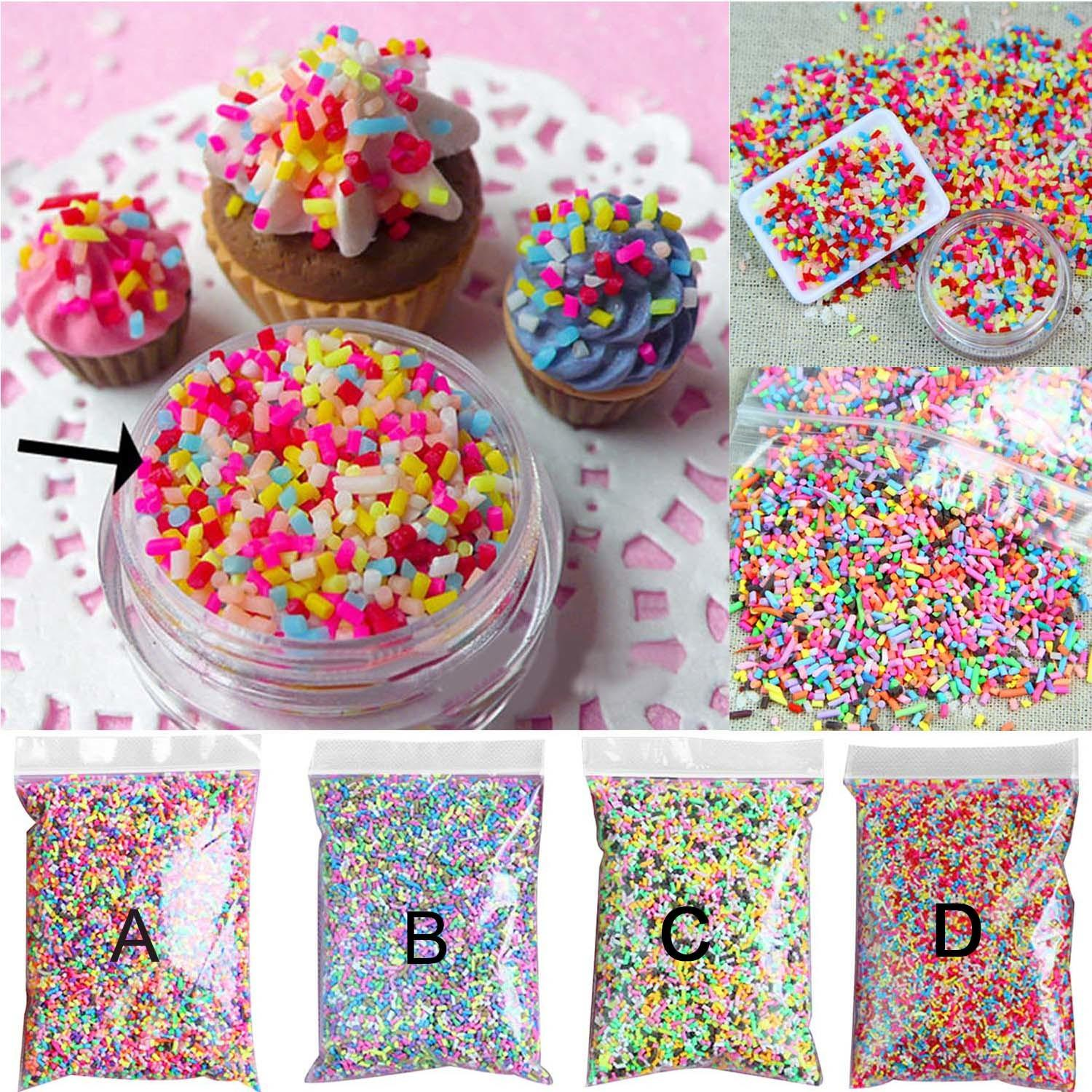 100g Diy Polymer Clay Colorful Fake Candy Sweets Sugar