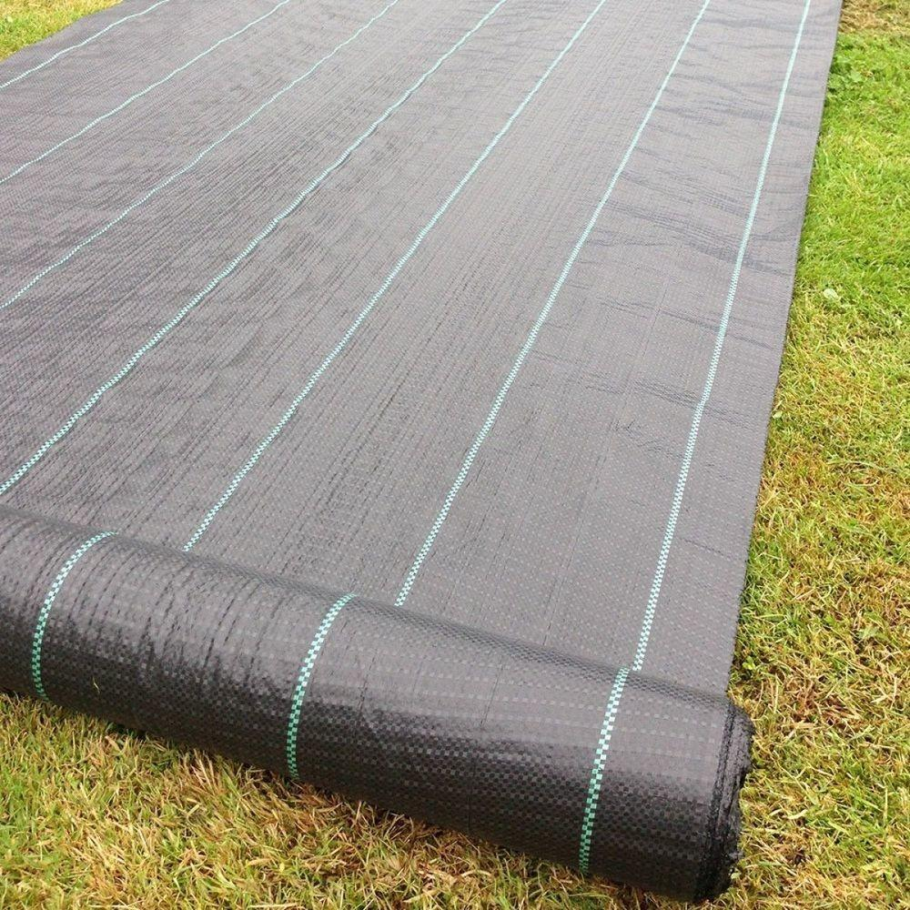 100g Wide Weed Control Fabric Ground Cover Membrane