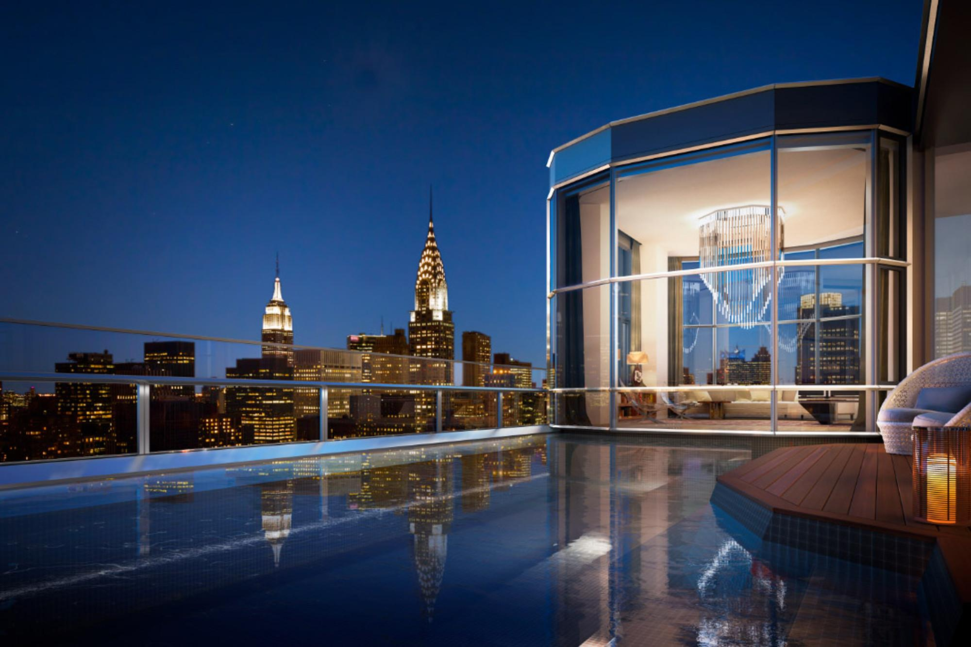 100m Penthouse Rising Near United Nations New York Post