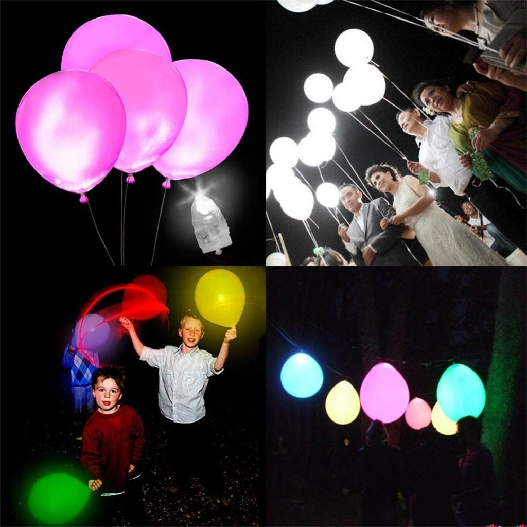 100pcs Lot Colorful Led Lamps Balloon Lights Paper