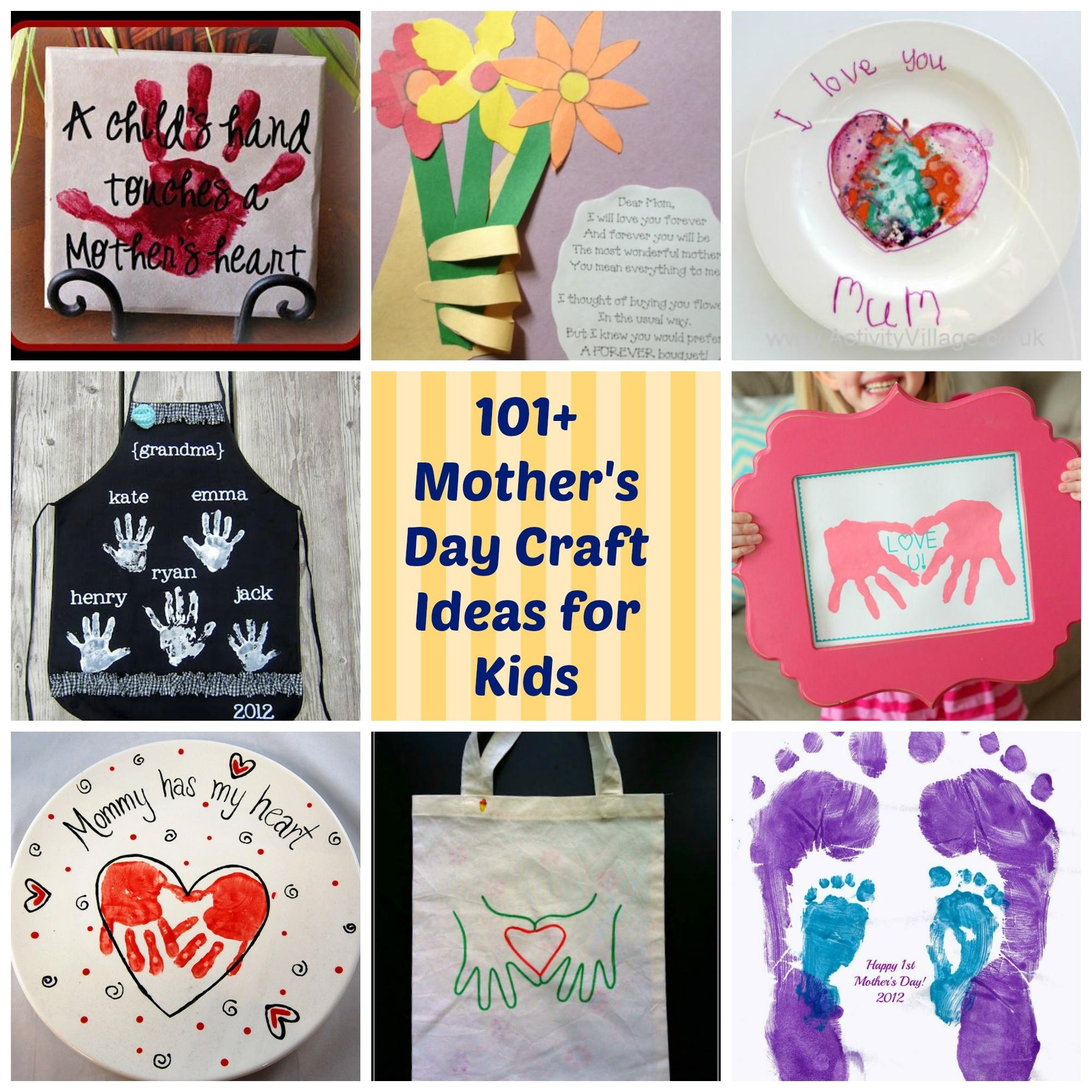 101 Mothers Day Diy Craft Ideas Kids Parenting Healthy