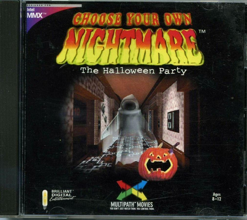 109 Choose Your Own Nightmare Halloween Party