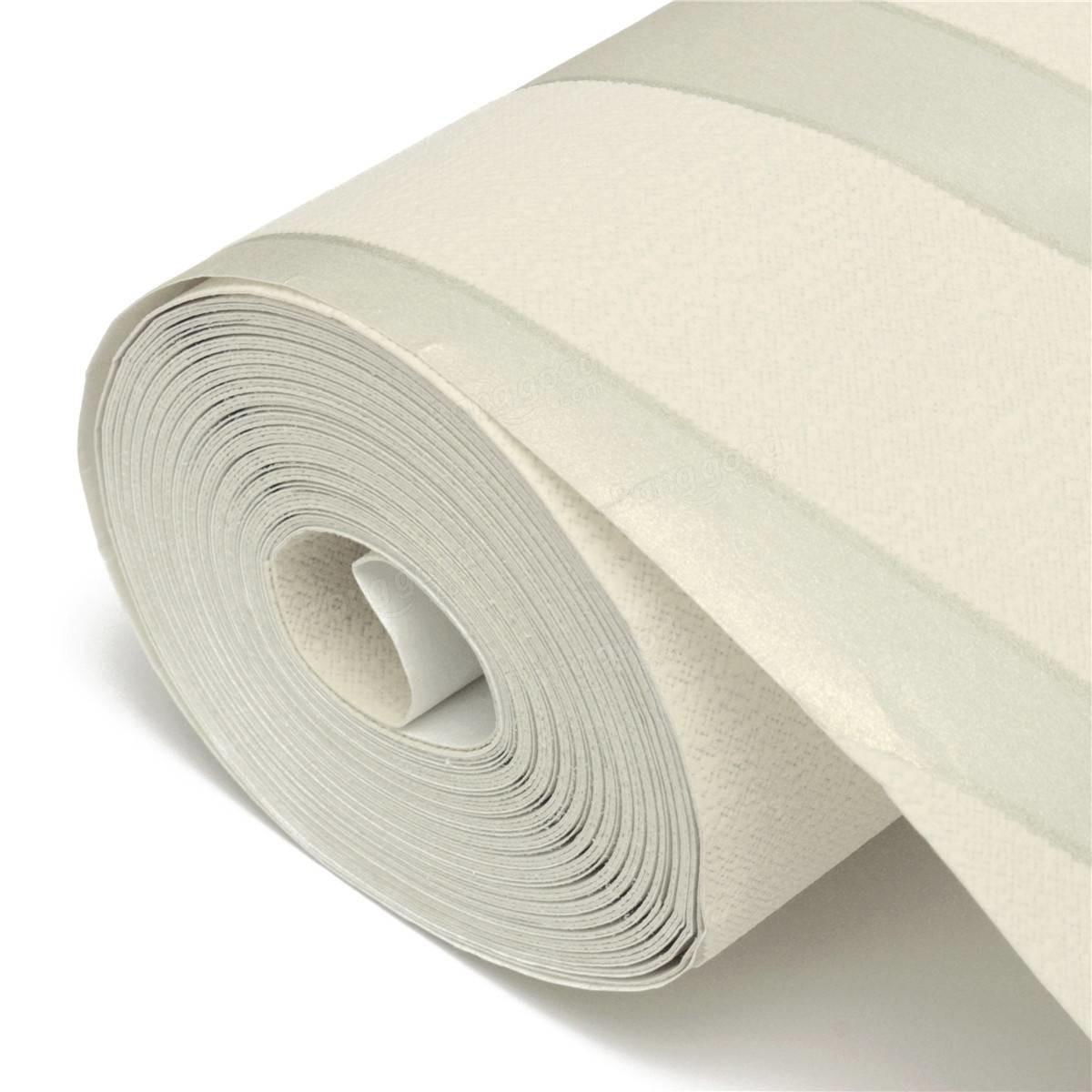 10m Crescent Wave Stripes Embossed Non Woven Flocking