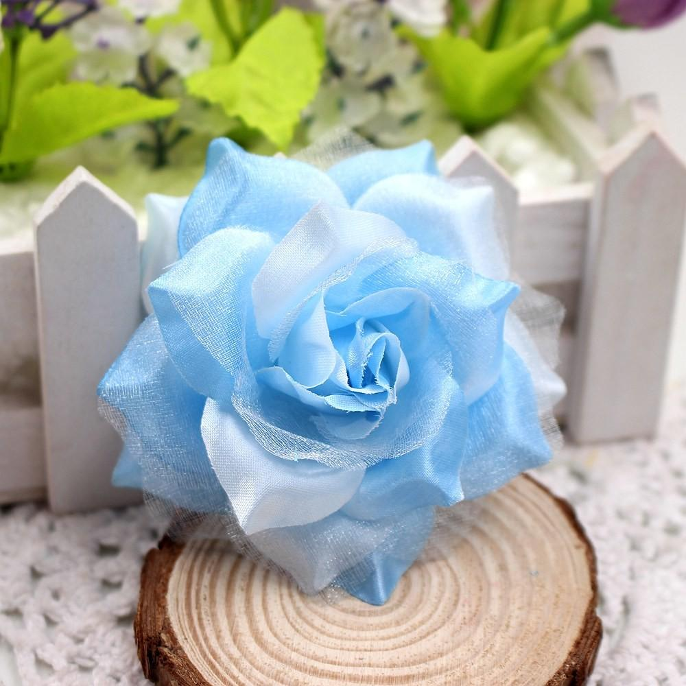 10pcs 6cm Silk Roses Artificial Flowers Wedding Decoration