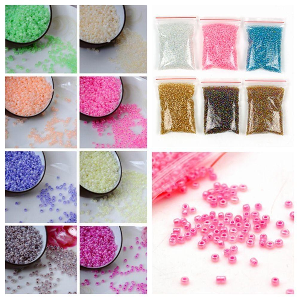 1200pcs 2mm Cute Czech Glass Seed Spacer Beads Jewelry