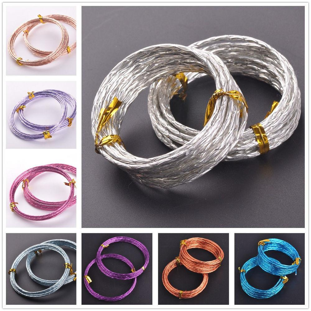 12gauge2mm Roll Carved Designs Aluminium Wire Diy
