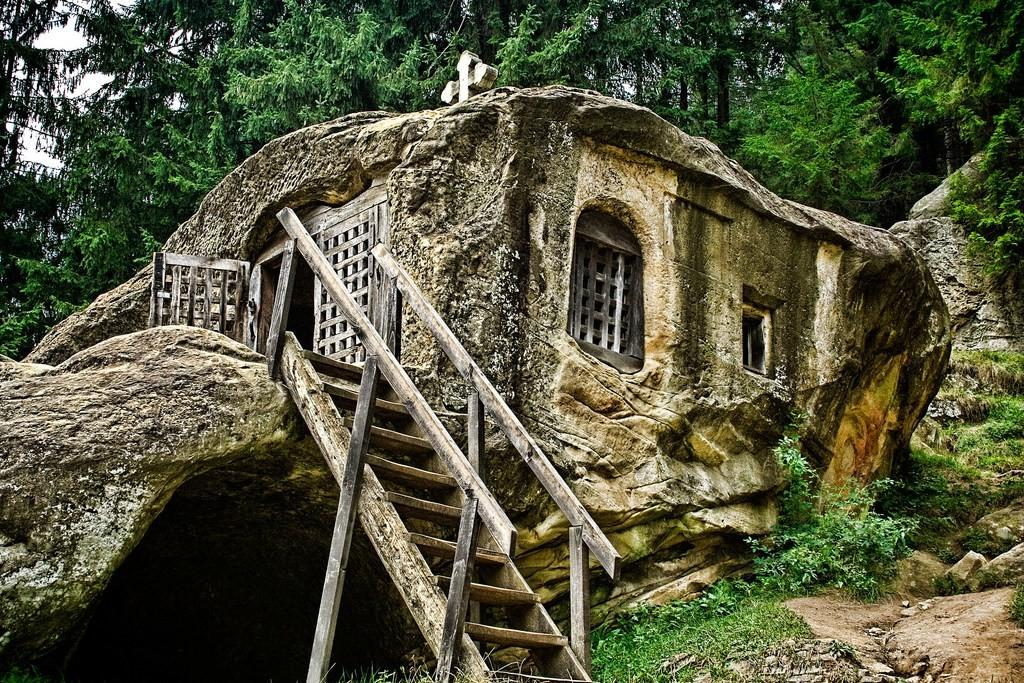 15th Century Old House Carved Stone Romanian