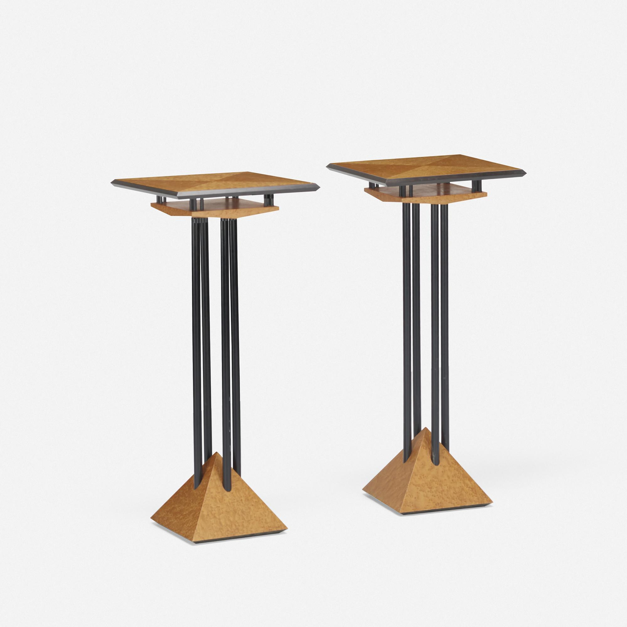 169 Modern Plant Stands Pair