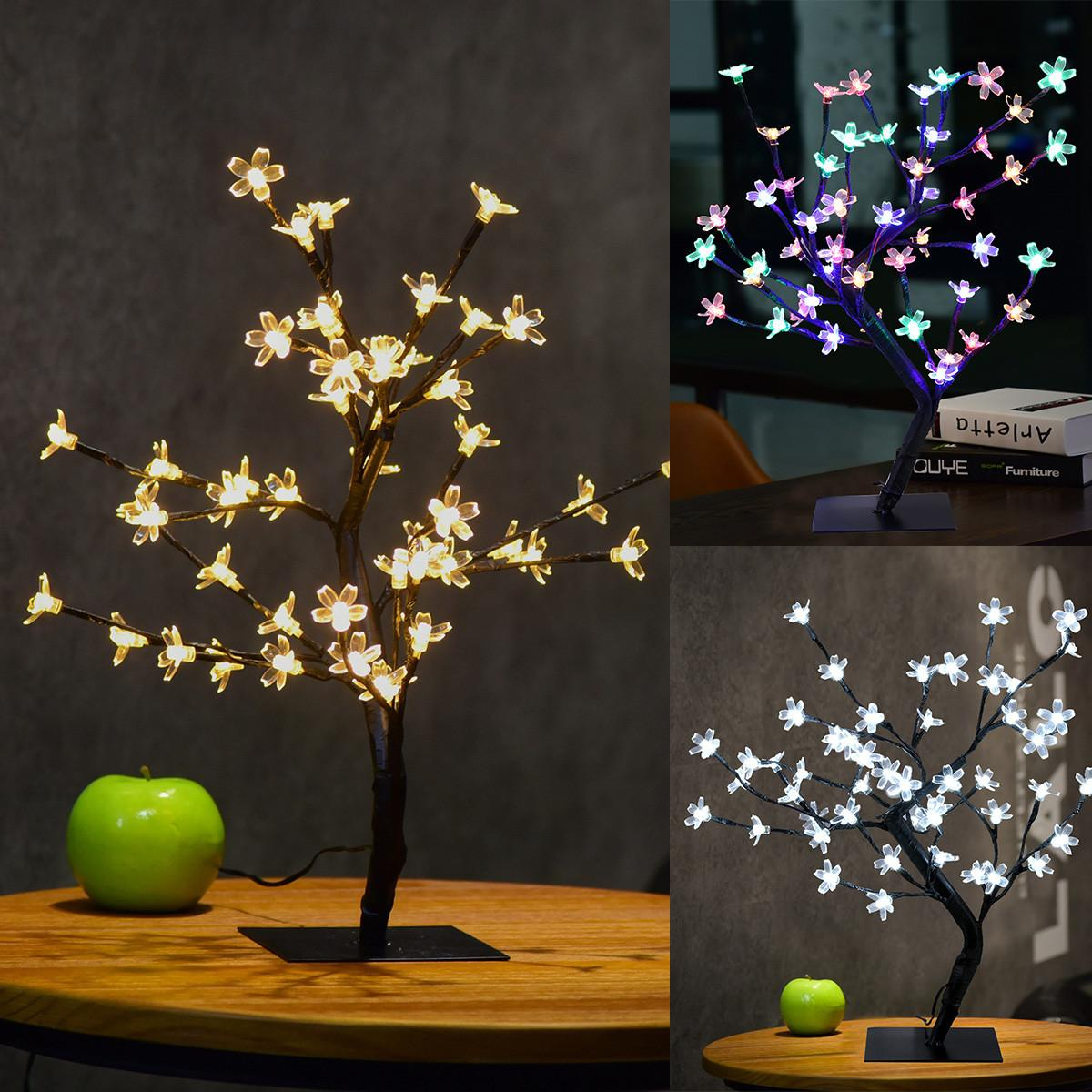180led Warm White Christmas Decor Cherry Blossom Desk