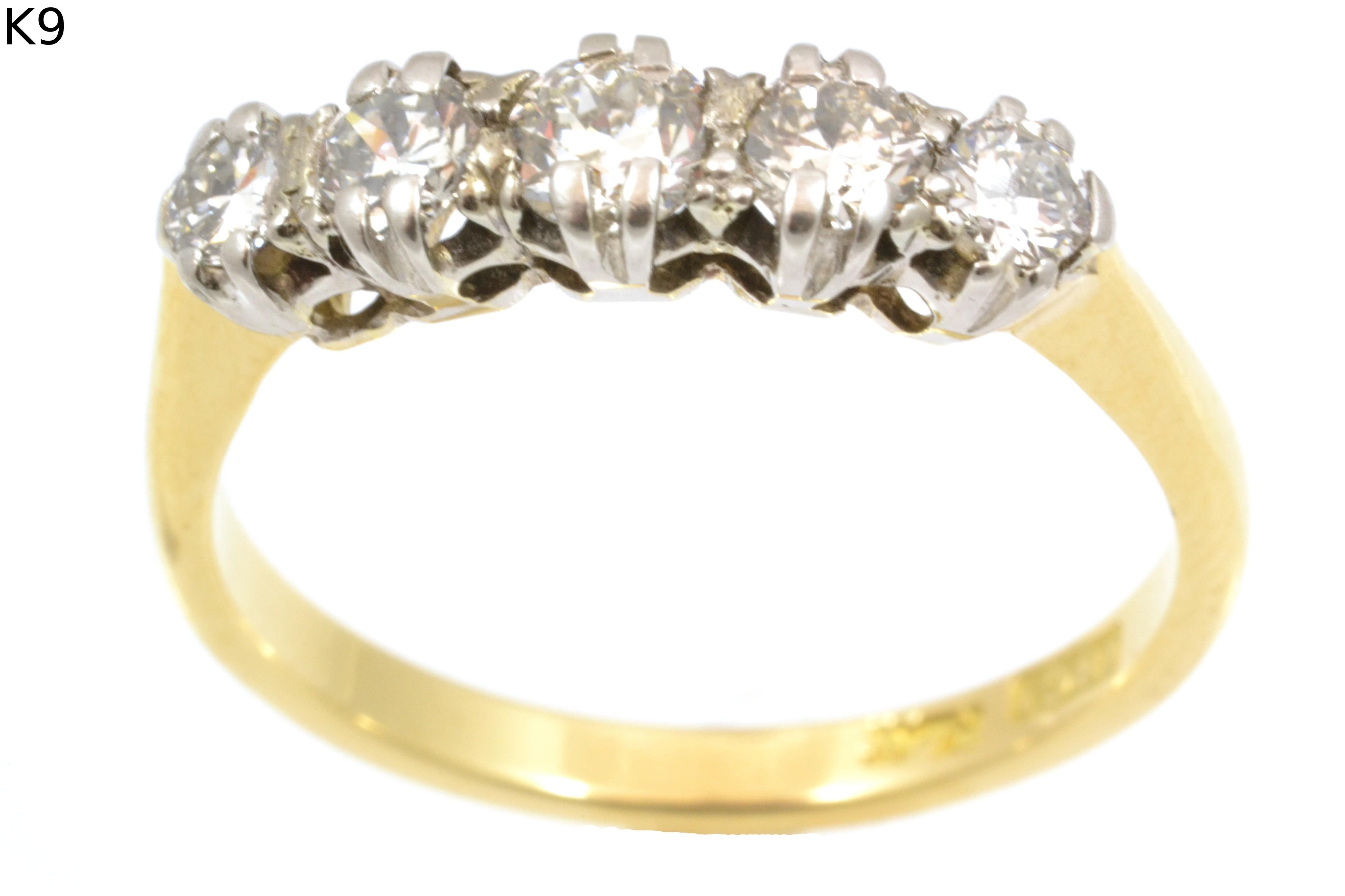 18ct Stone Diamond Eternity Ring Product Bassam