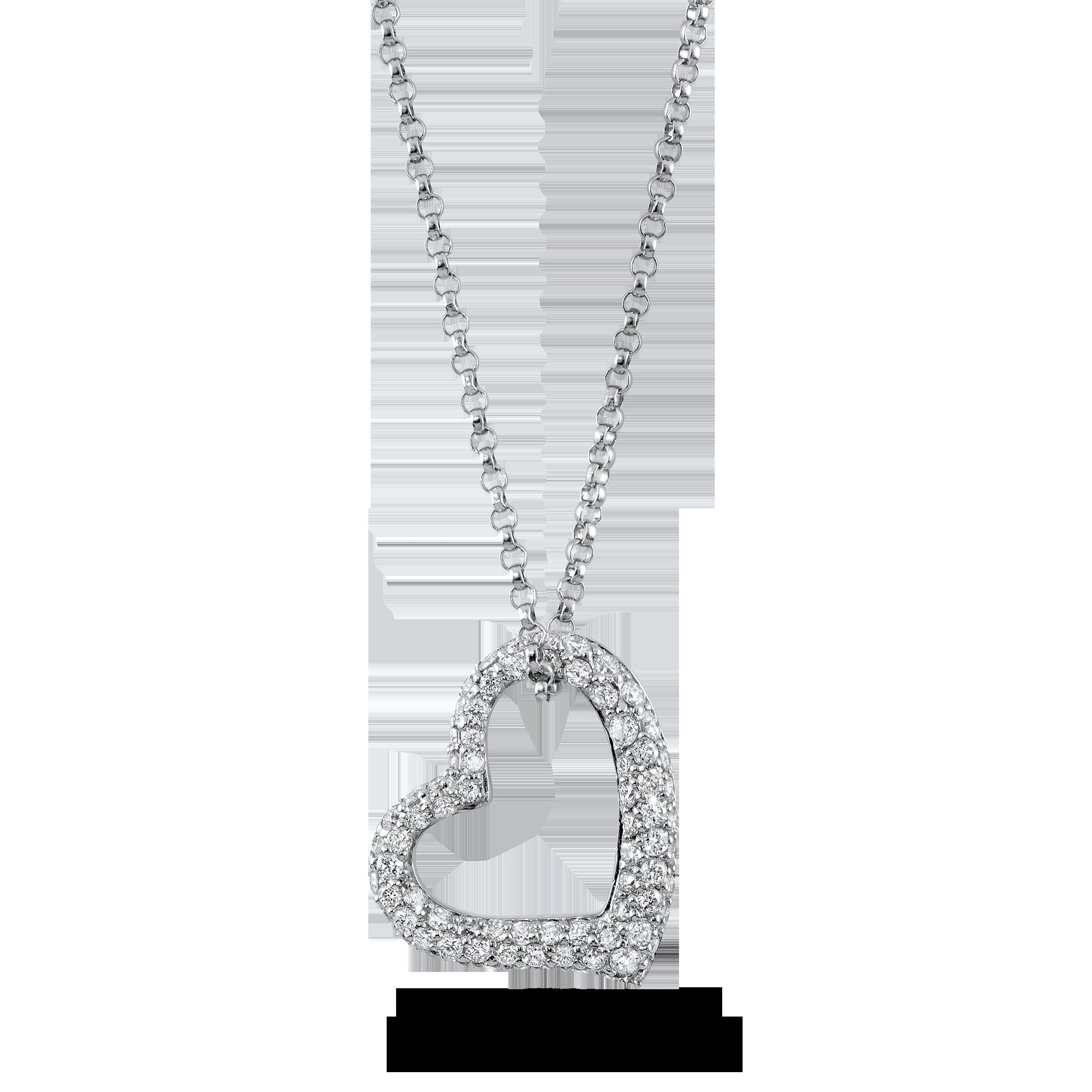 18k Carat Brilliant Diamond Necklace