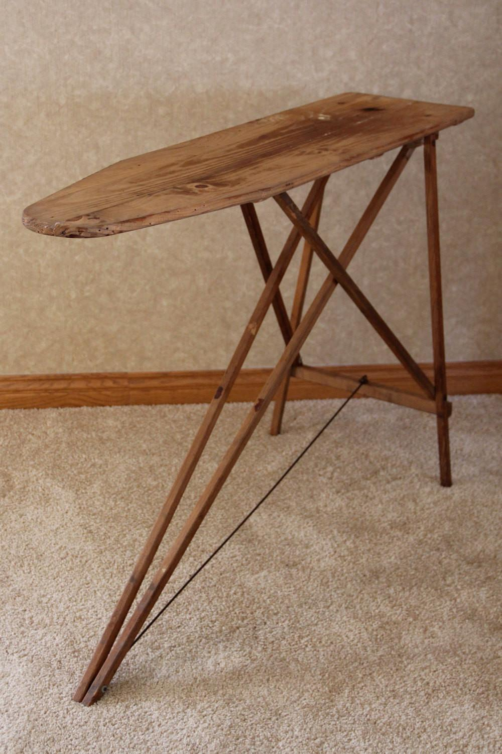1940 Antique Wooden Ironing Board Bailey Inc