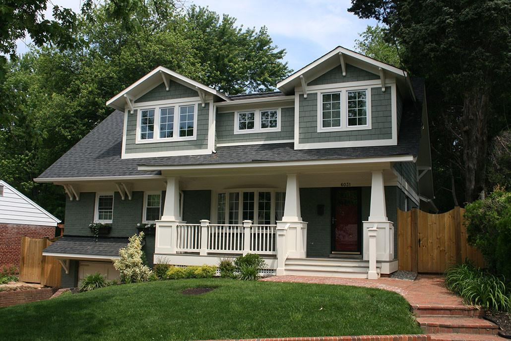 1940 Brick Colonial Home Renovation Northern Old