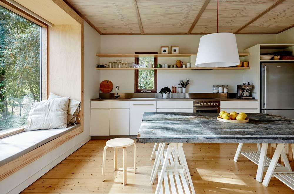 1950s Beach Shack Transformed Into Modern Weekend Family