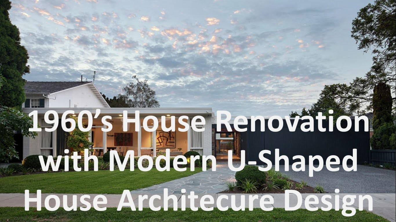 1960 House Renovation Modern Shaped