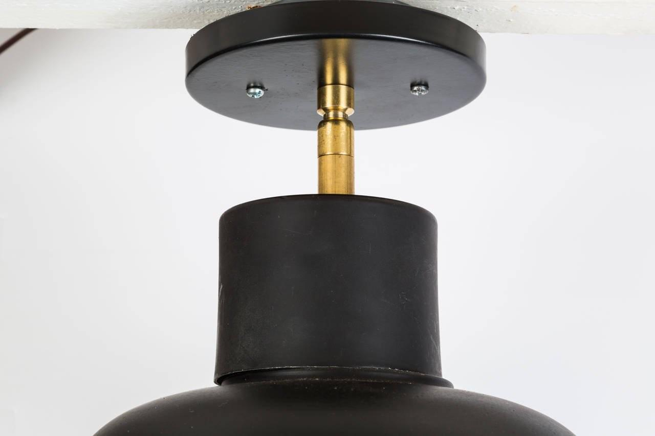 1960s Stilnovo Ceiling Light Manner Max Ingrand