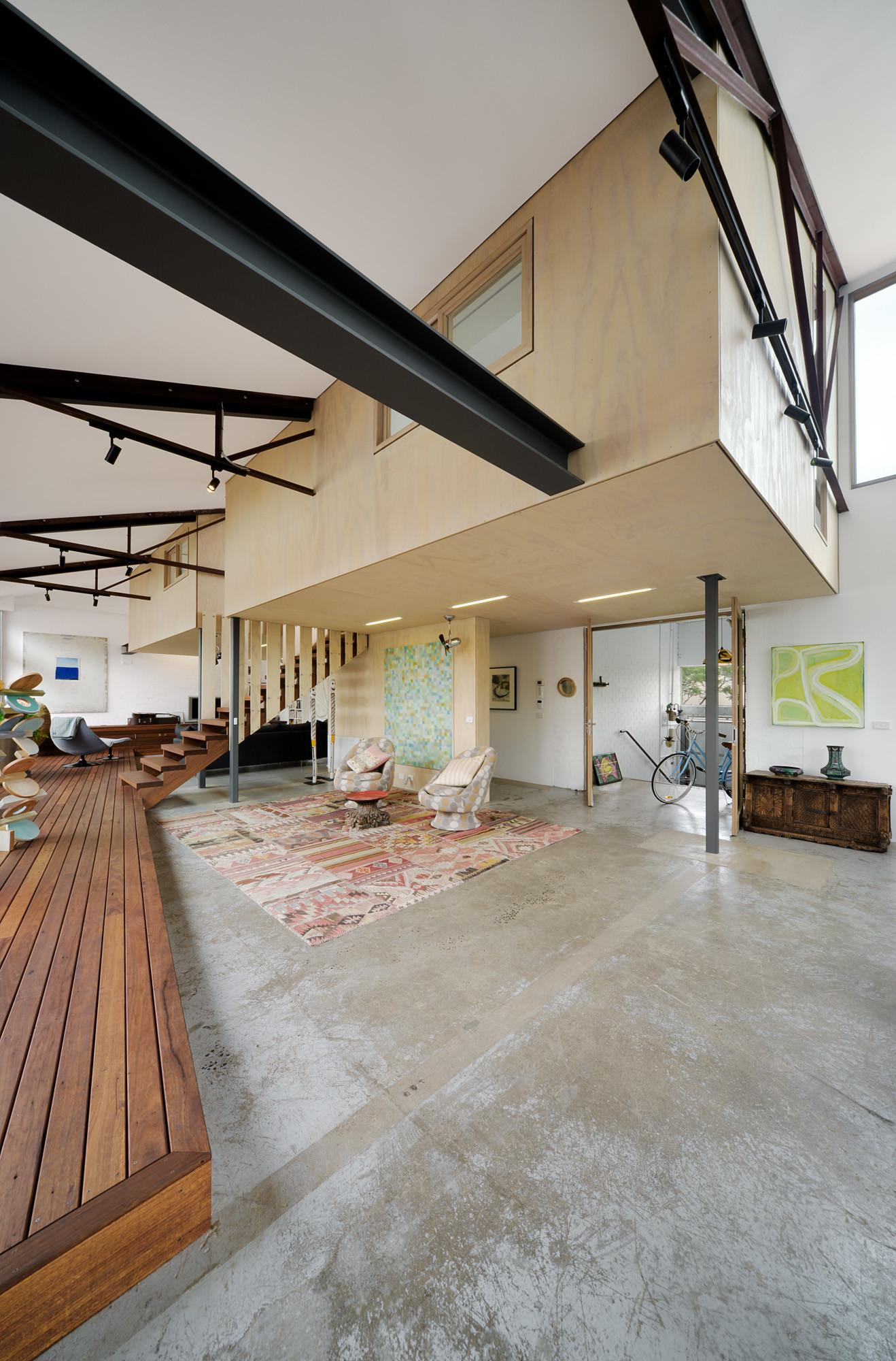 1960s Warehouse Becomes Hip Green Home Melbourne Curbed