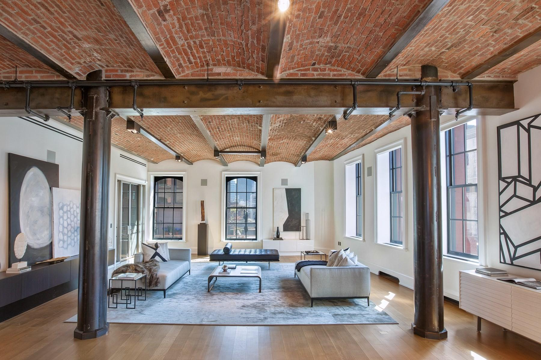 19th Century Nyc Industrial Building Turned Loft Asks 22m
