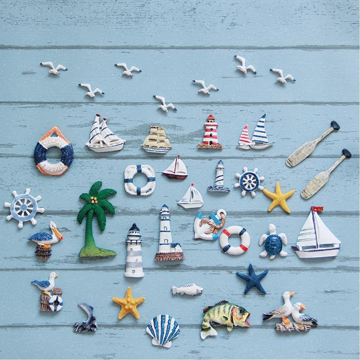 45 Inspiring Nautical Themed Diy Fridge Magnets That Look So Creepy Spooky Trends For 2021 Beautiful Decoratorist